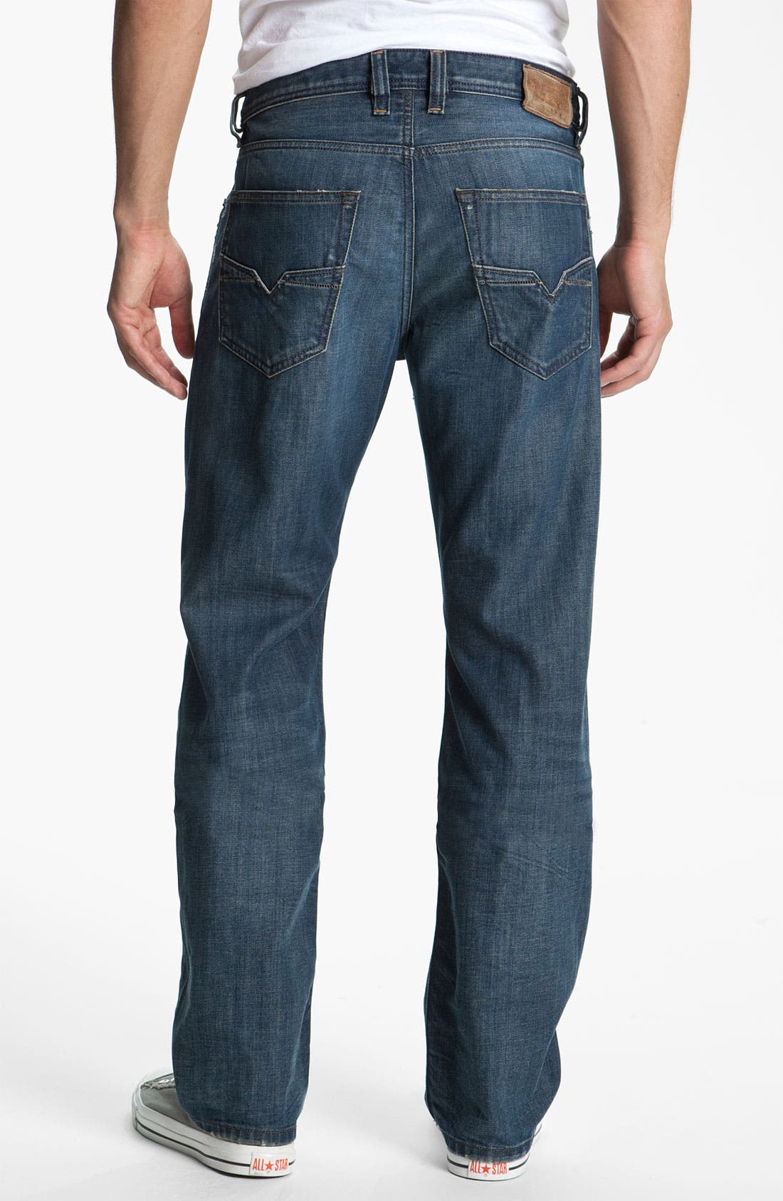 Alternate Image 1 Selected - DIESEL® 'Larkee' Relaxed Straight Leg Jeans (0885S)