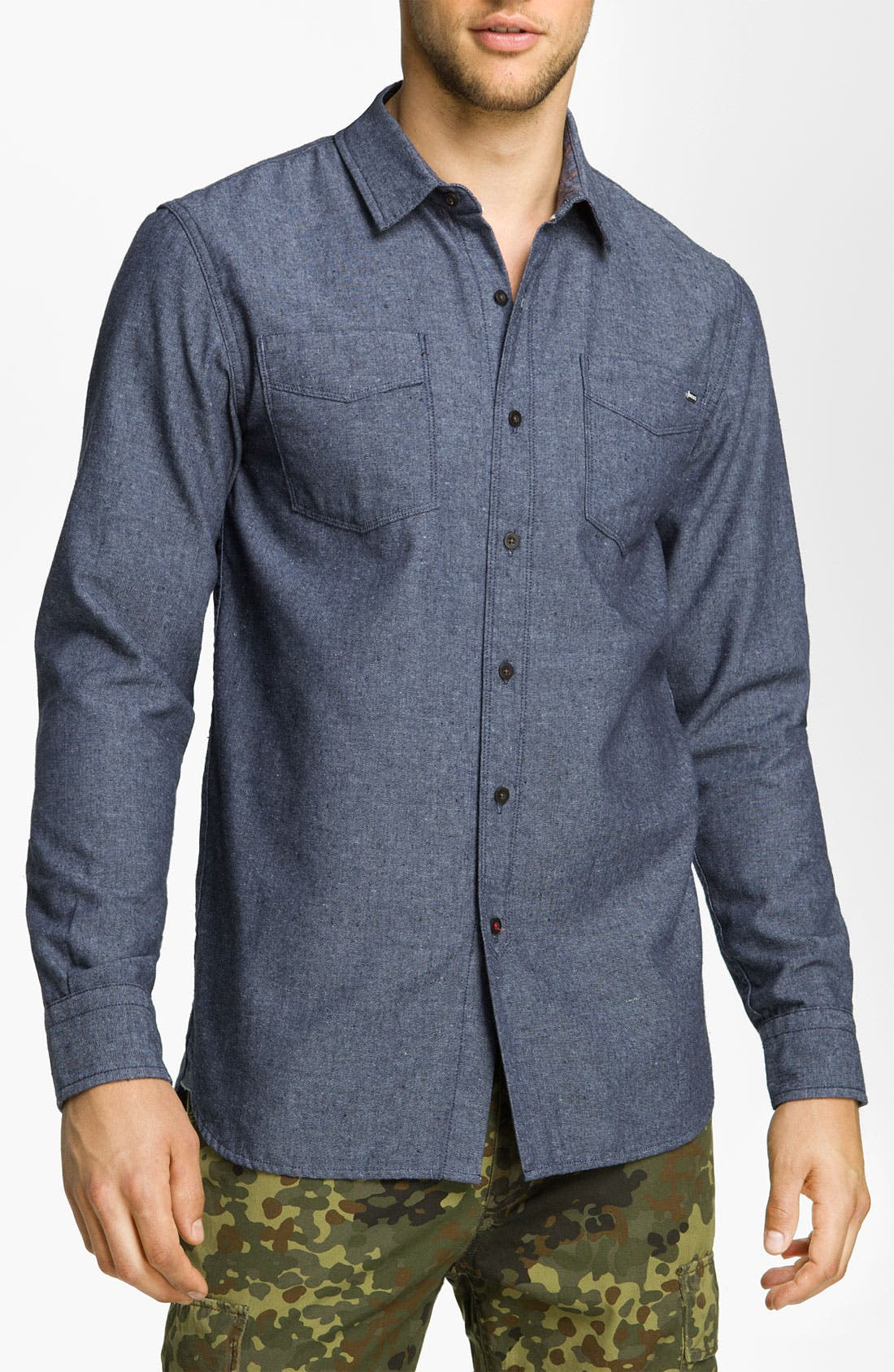 Main Image - Deus Ex Machina 'Cassidy' Chambray Shirt