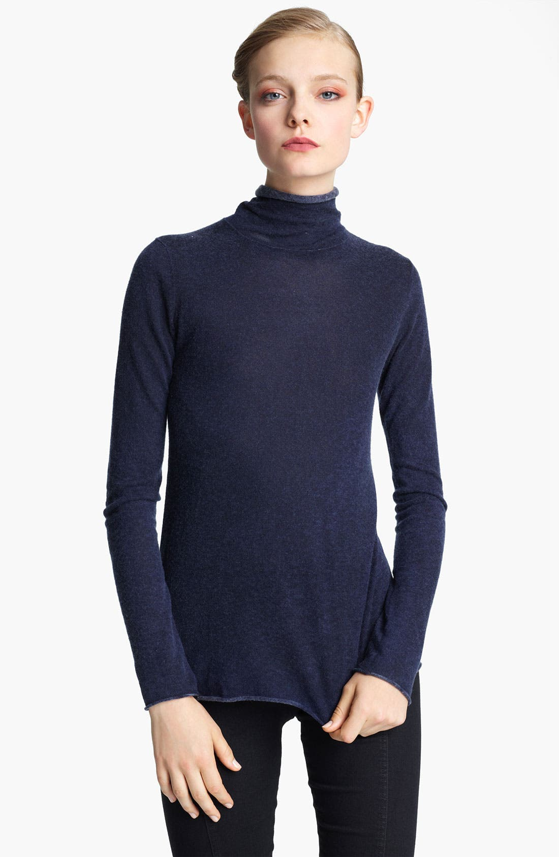 Alternate Image 1 Selected - Donna Karan Collection Cashmere Top