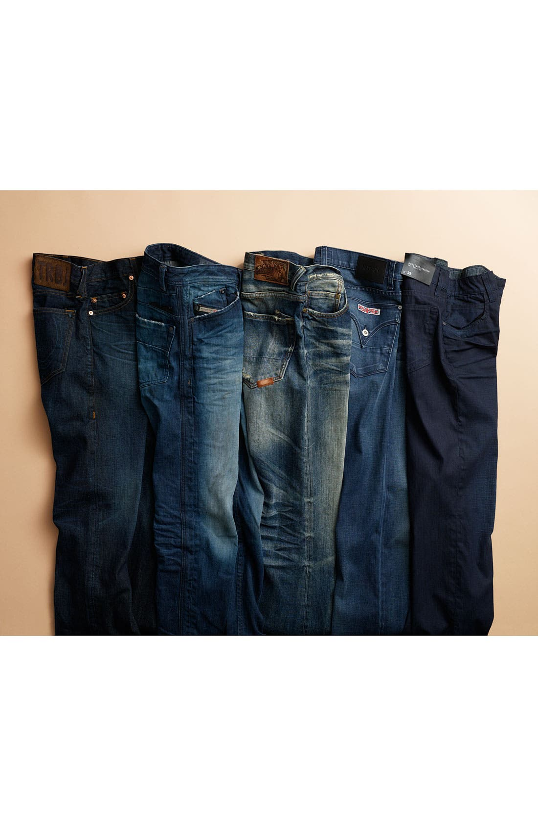 Alternate Image 5  - True Religion Brand Jeans 'Bobby 1971' Straight Leg Jeans (Ransom)