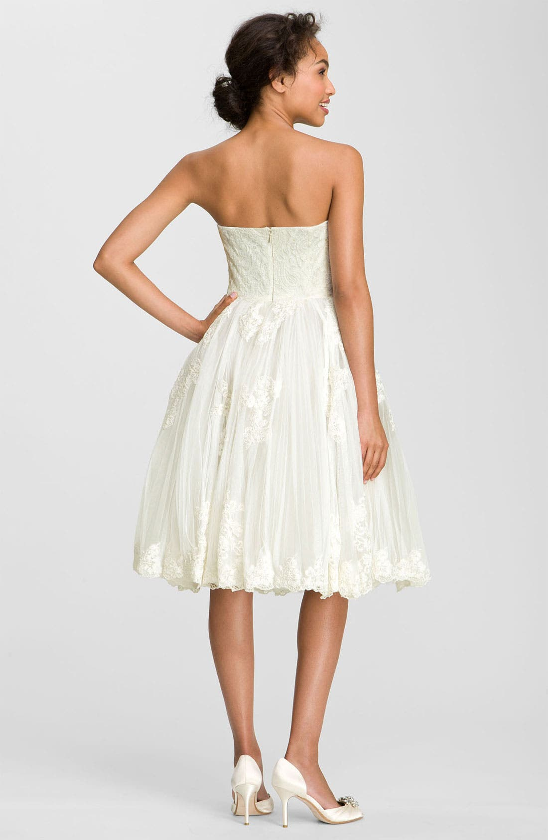 Alternate Image 2  - Ted Baker London 'Raul' Strapless Tulle Fit & Flare Dress
