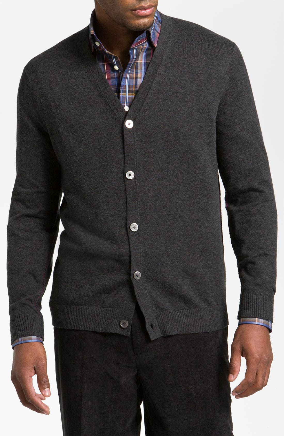 Alternate Image 1 Selected - Tommy Bahama 'Weekend Drifter' Cotton & Cashmere Cardigan
