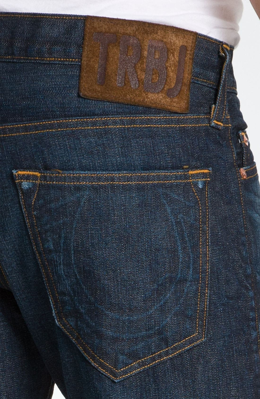 Alternate Image 4  - True Religion Brand Jeans 'Bobby 1971' Straight Leg Jeans (Ransom)