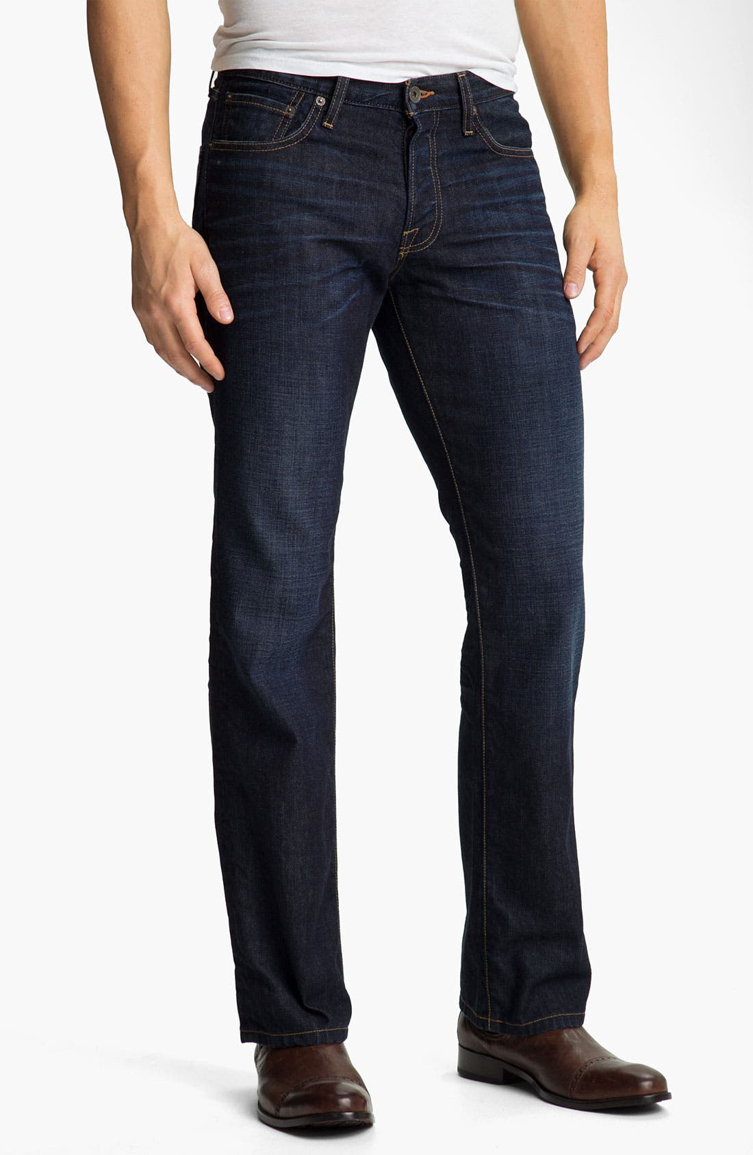 Alternate Image 1 Selected - Lucky Brand '361' Vintage Straight Leg Jeans (Dark Harpeth)