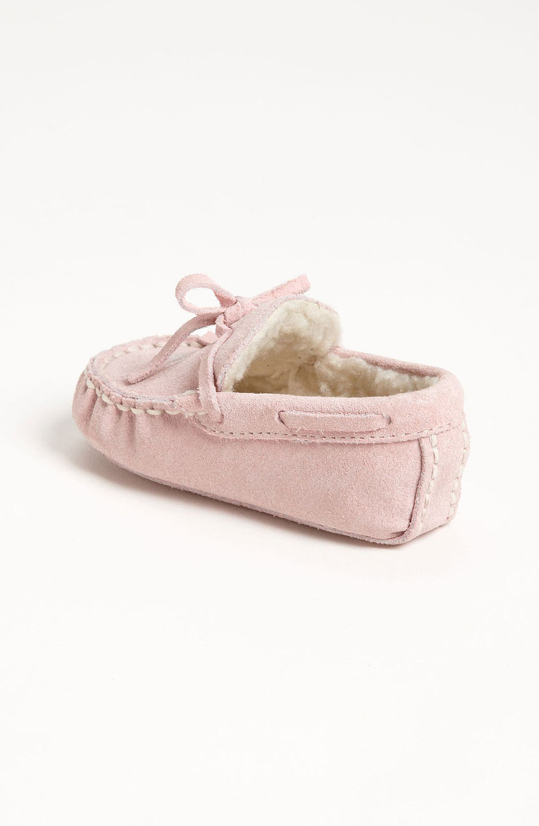 Alternate Image 2  - Cole Haan 'Mini' Moccasin with Faux Shearling Lining (Baby)