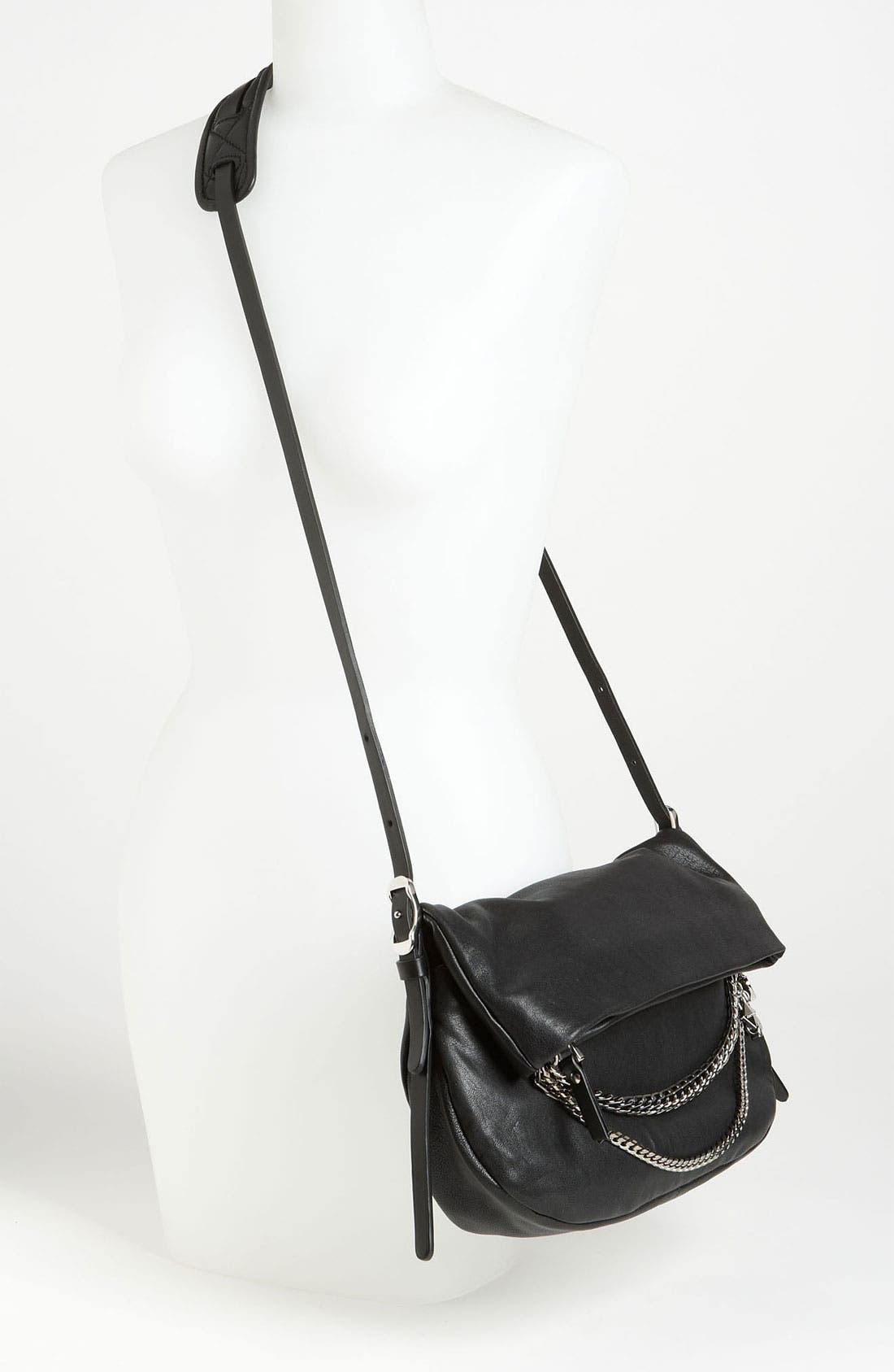 Alternate Image 2  - Jimmy Choo 'Biker - Small' Leather Crossbody Bag
