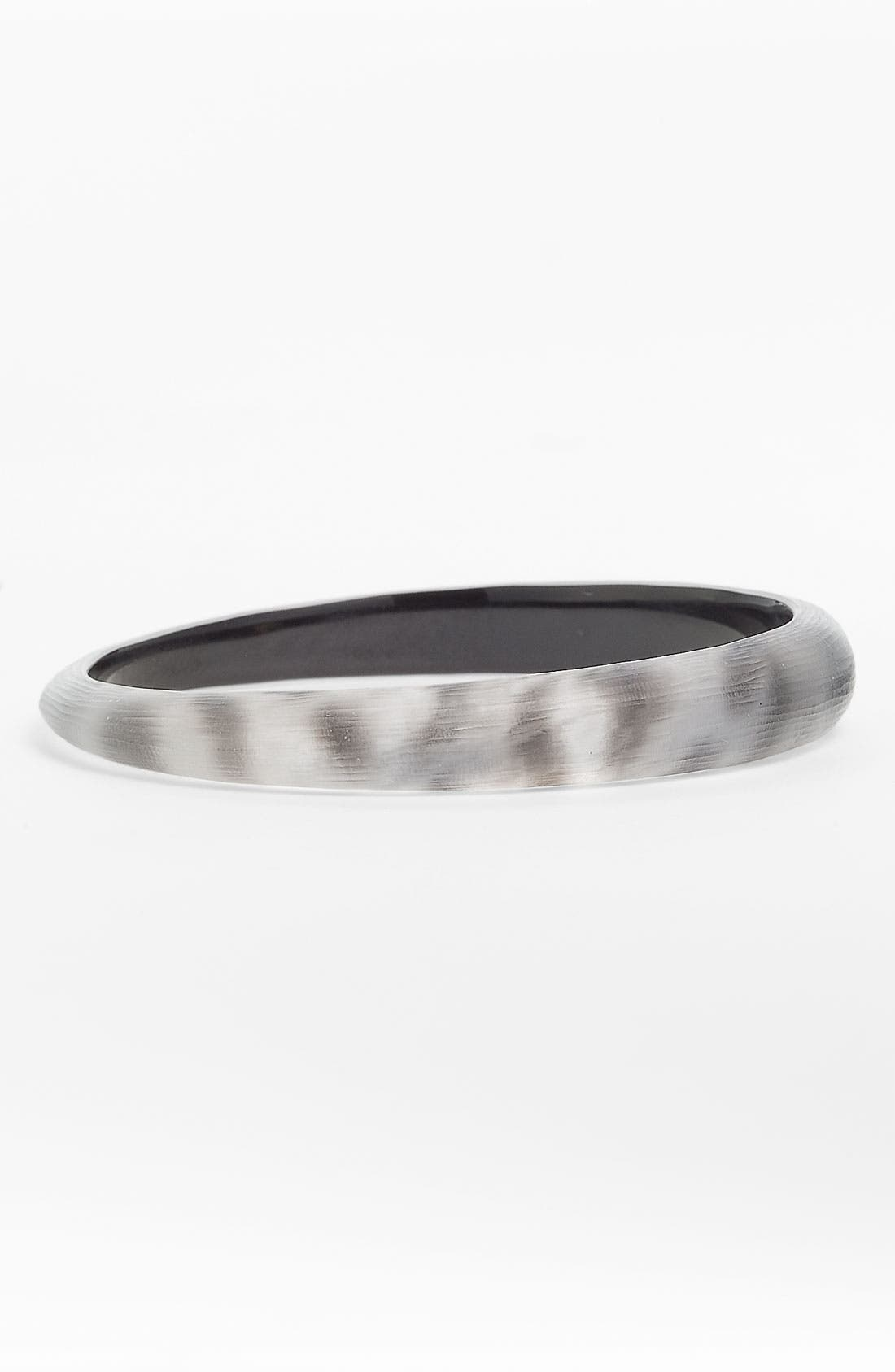Main Image - Alexis Bittar Leopard Skinny Tapered Bangle (Nordstrom Exclusive)