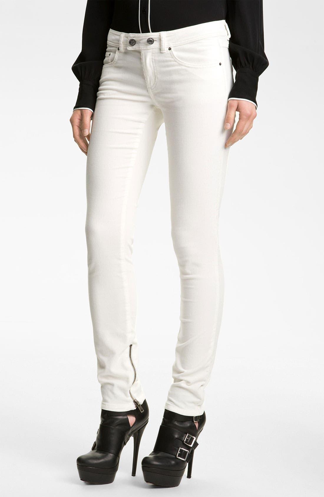 Main Image - Rachel Zoe 'Julie' Skinny Corduroy Pants