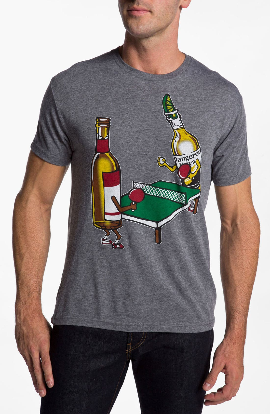 Main Image - Kid Dangerous Grime Couture 'Beer Pong' Graphic T-Shirt