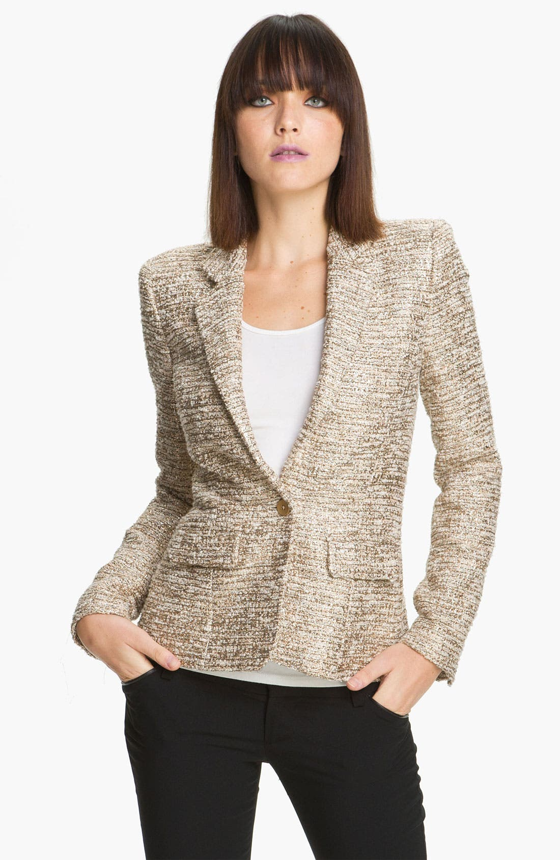 Alternate Image 1 Selected - Alice + Olivia 'Elyse' Blazer