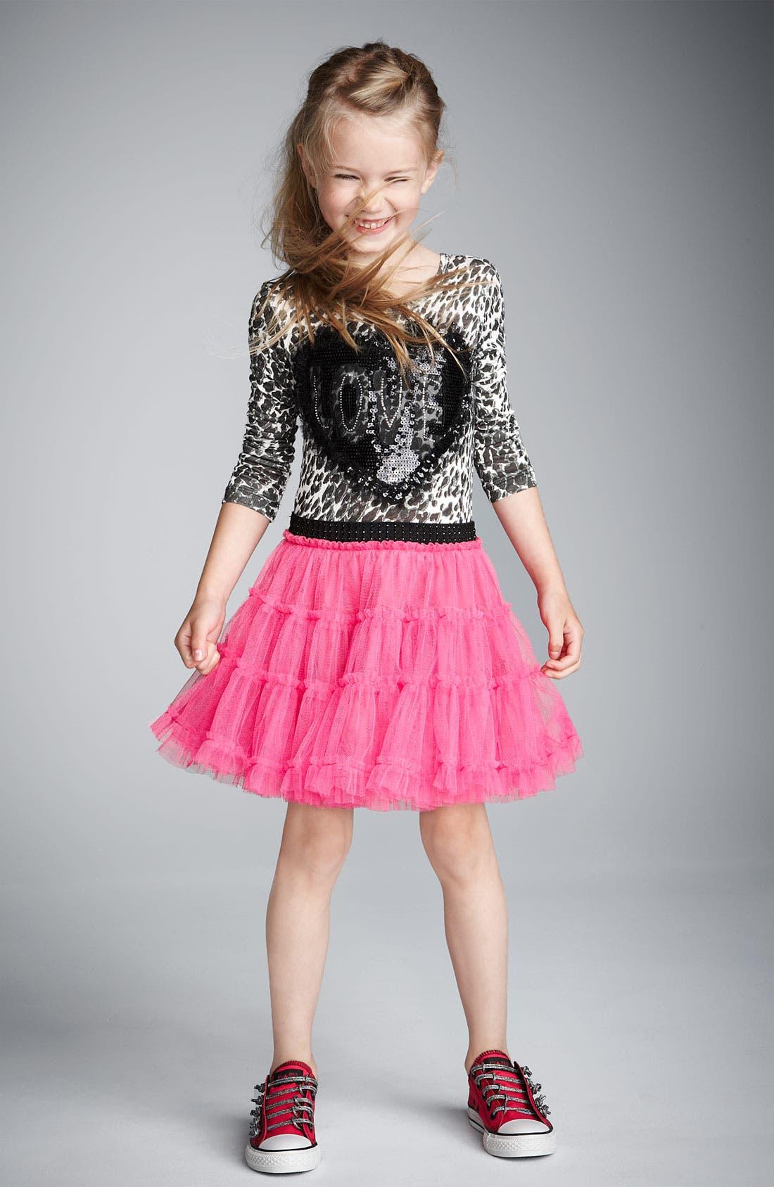 Alternate Image 2  - Little Mass 'Princess' Tutu Dress (Little Girls)