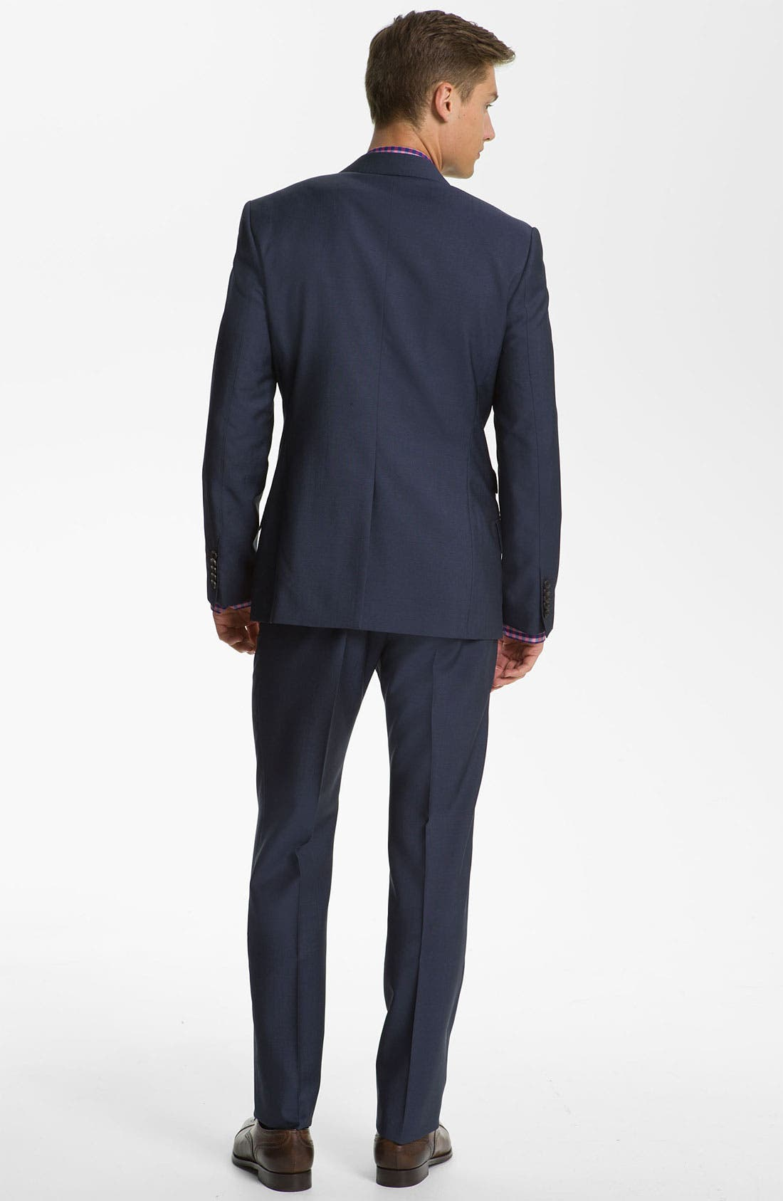 Alternate Image 3  - Paul Smith London Wool & Mohair Suit