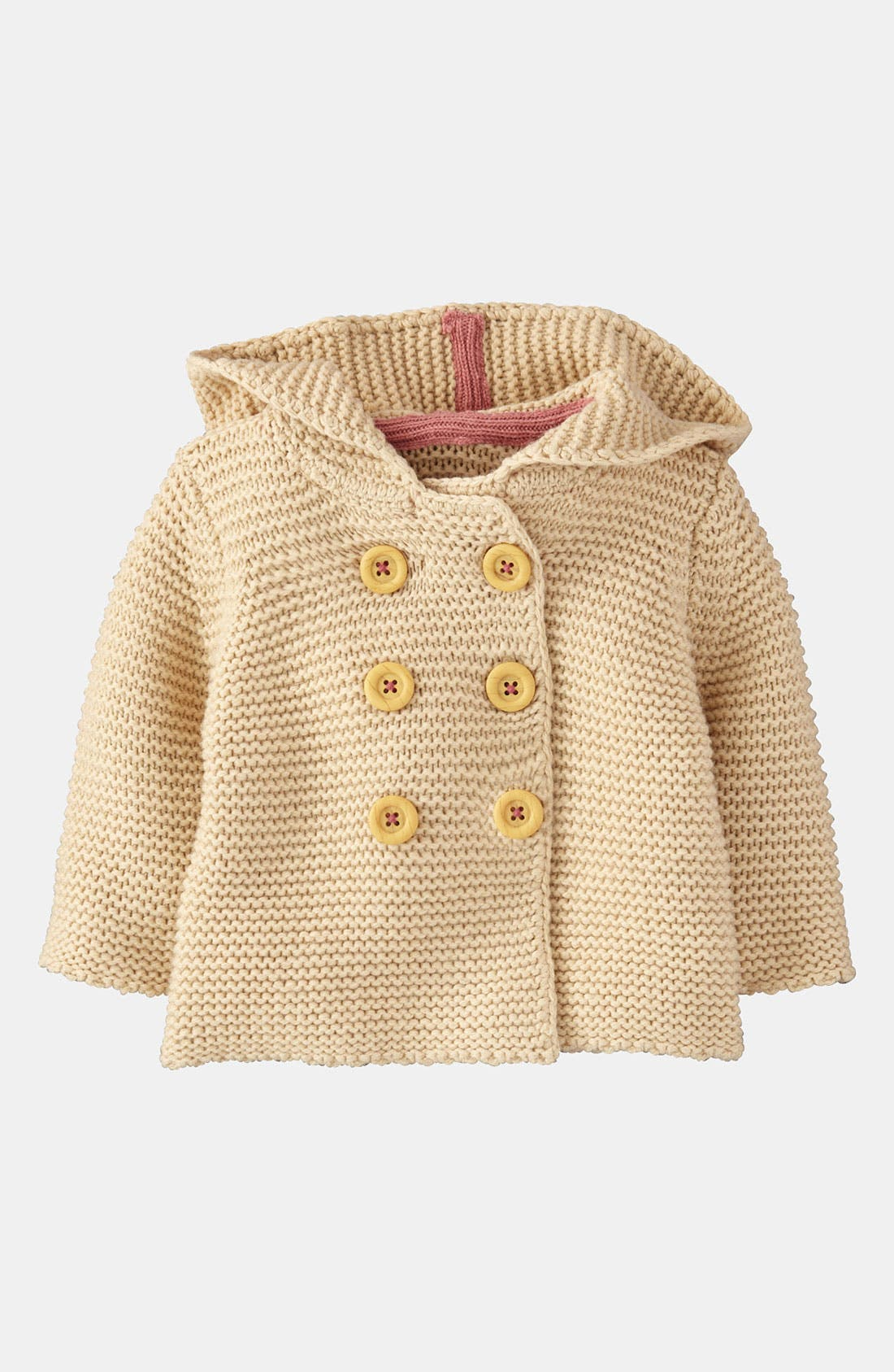 Alternate Image 1 Selected - Mini Boden Knit Jacket (Infant)