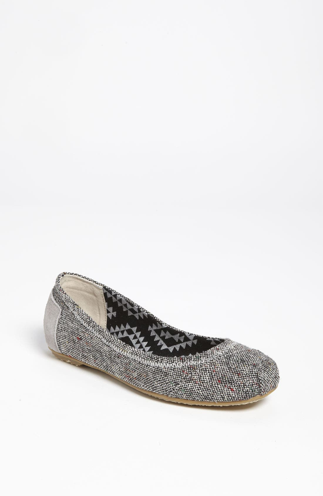 Main Image - TOMS 'Tweed Lurex®' Ballet Flat