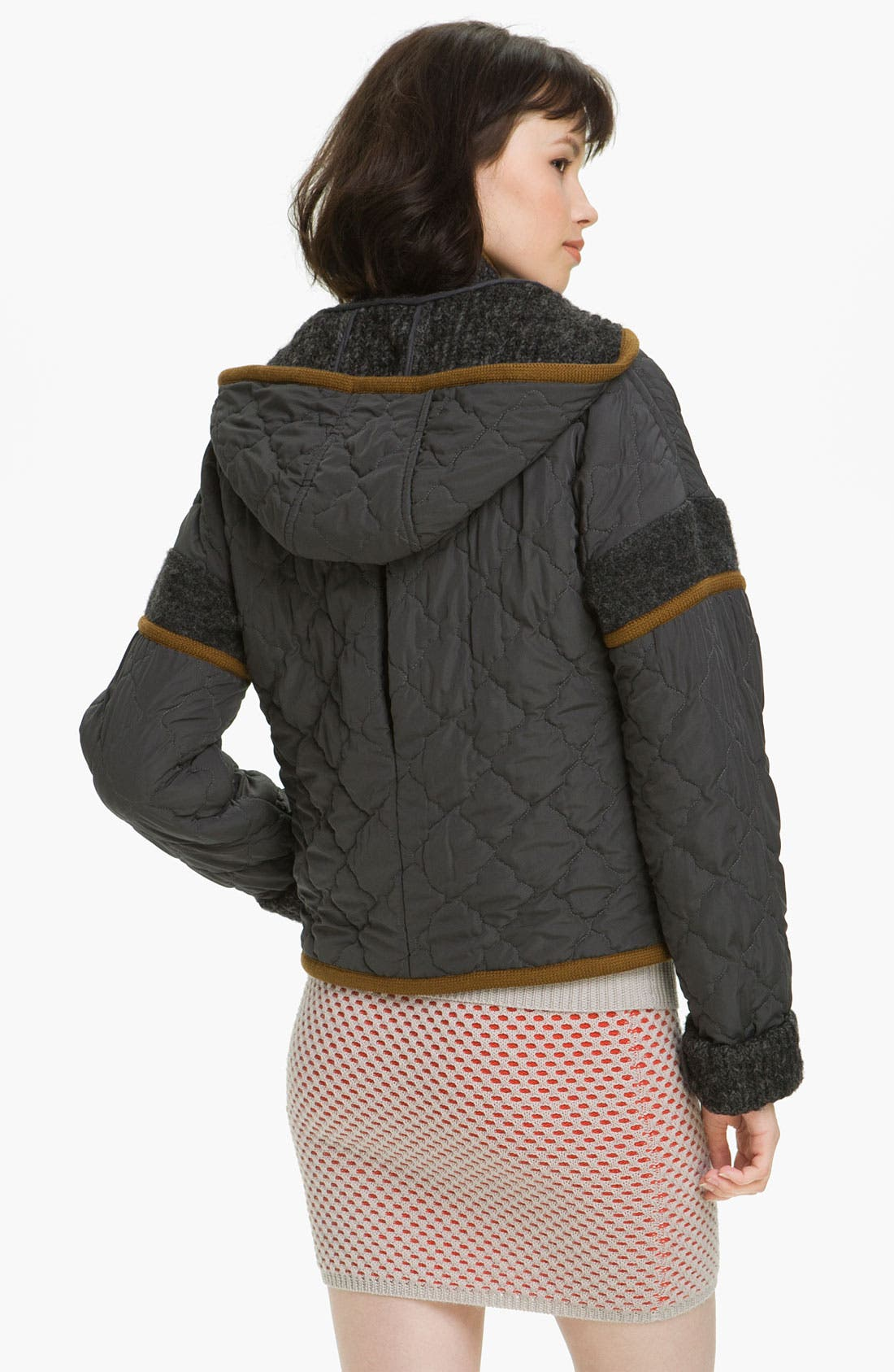 Alternate Image 2  - Opening Ceremony Reversible Vest & Quilted Jacket