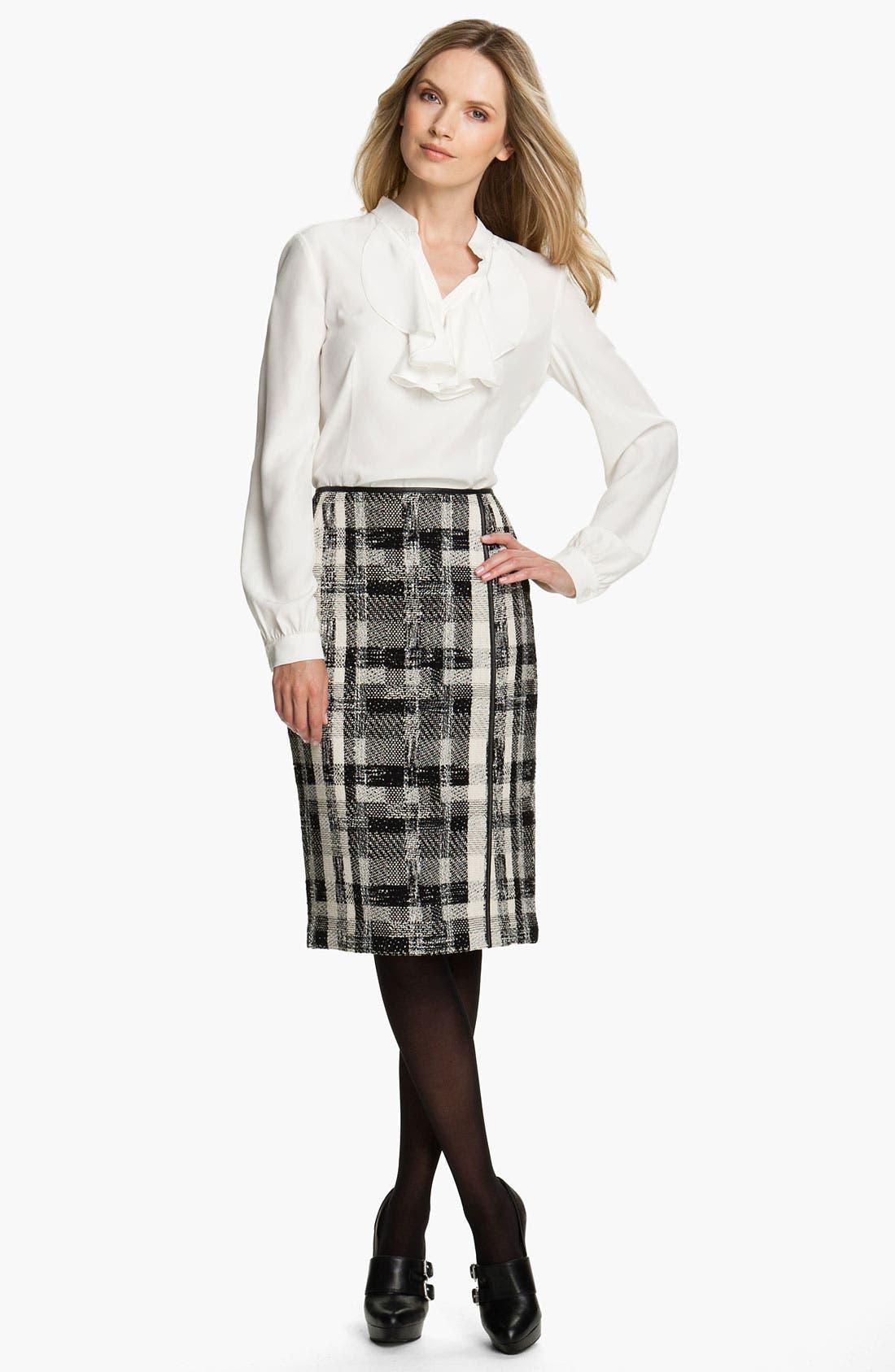 Alternate Image 4  - Lafayette 148 New York Fragmented Tweed Skirt