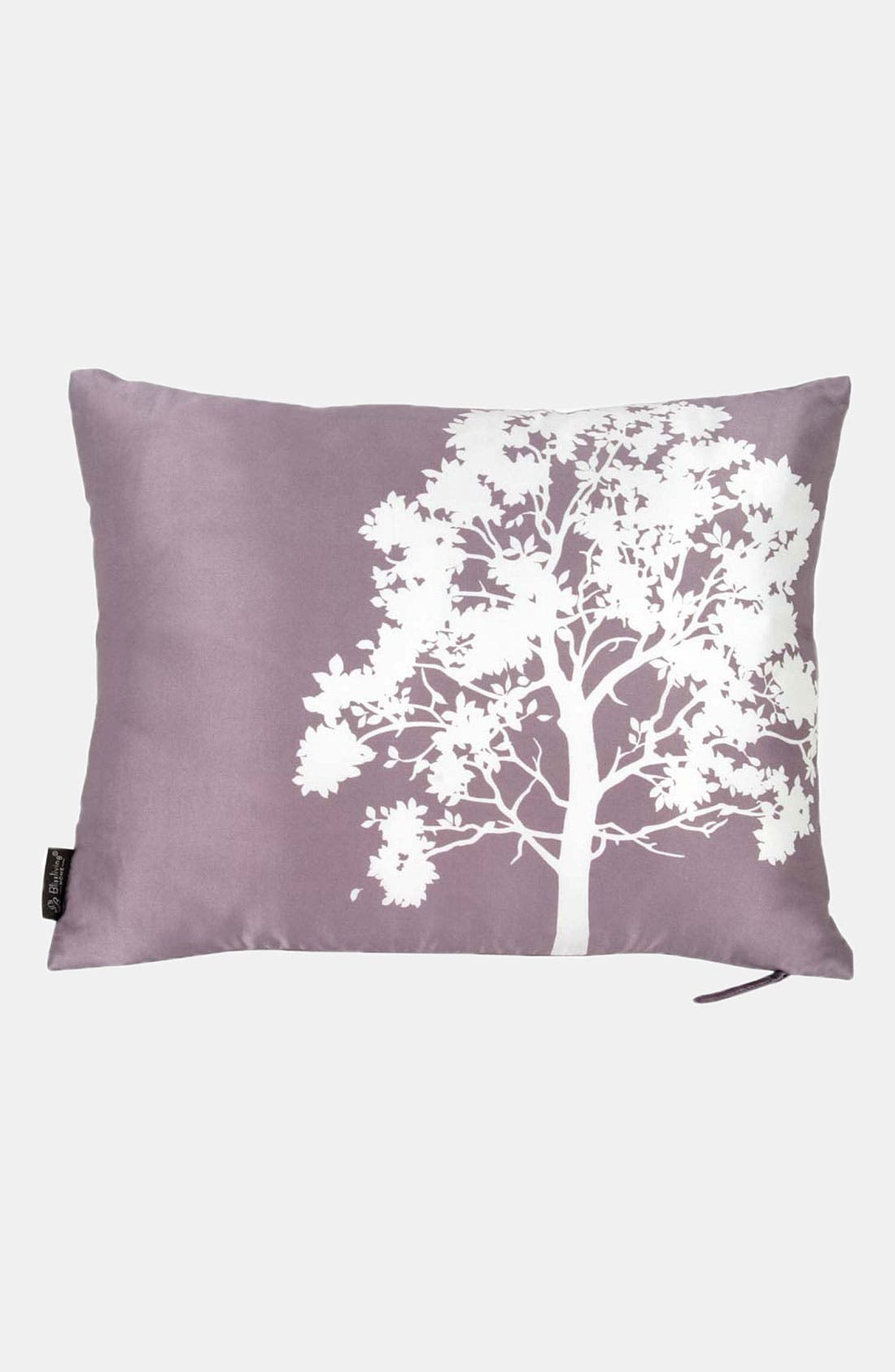 Alternate Image 1 Selected - Blissliving Home 'Shadow' Silk Pillow (Online Only)