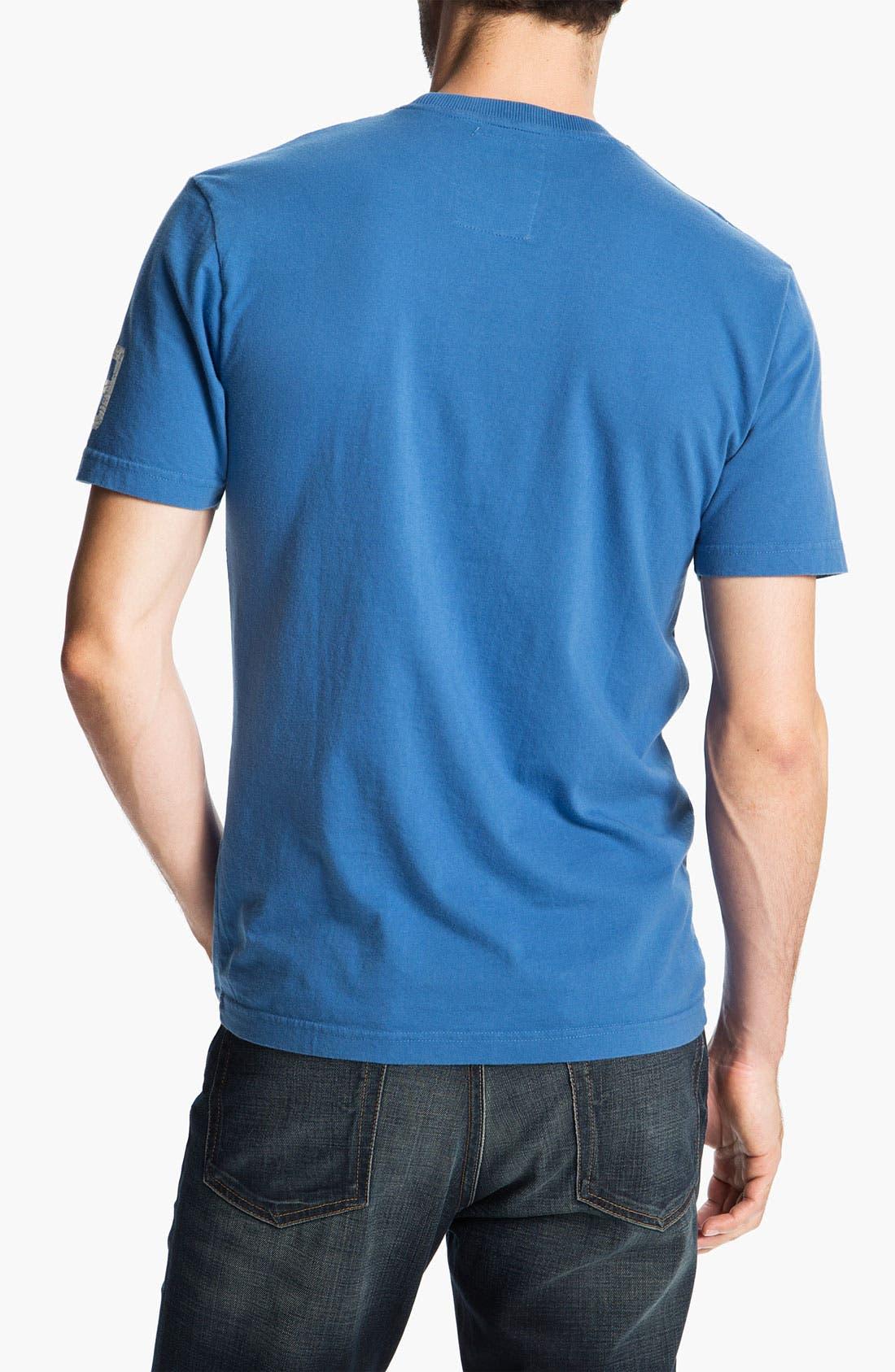 Alternate Image 2  - Red Jacket 'Johnny Unitas - Over Under' T-Shirt