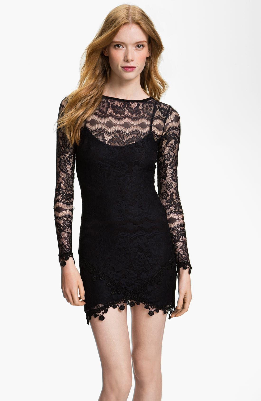 Main Image - For Love & Lemons Lace Dress