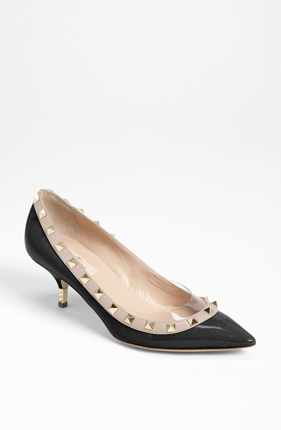 Alternate Image 1 Selected - Valentino 'Rockstud' Metal Heel Pump