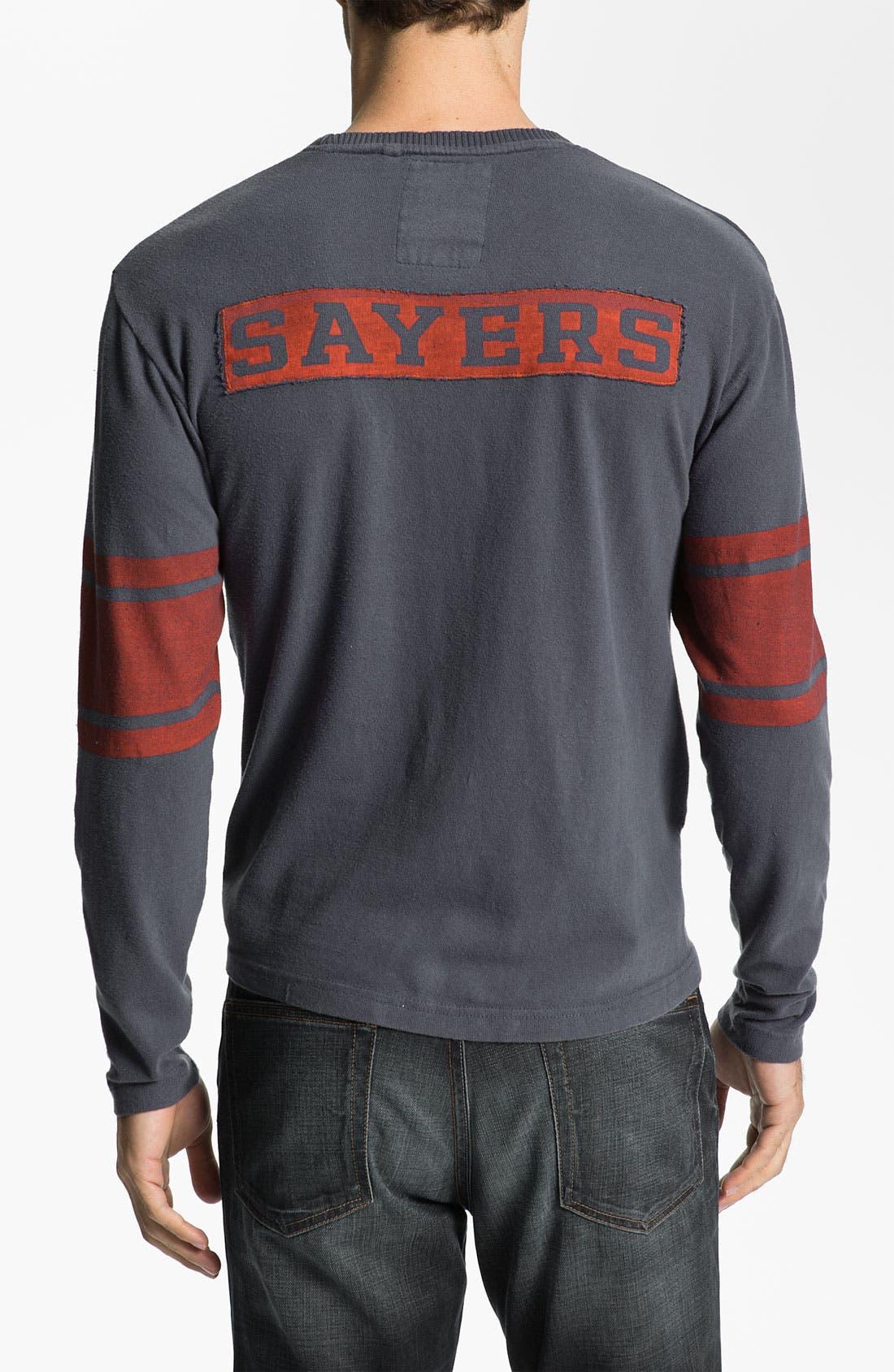 Alternate Image 2  - Red Jacket 'Gale Sayers - Bulldog' Long Sleeve T-Shirt