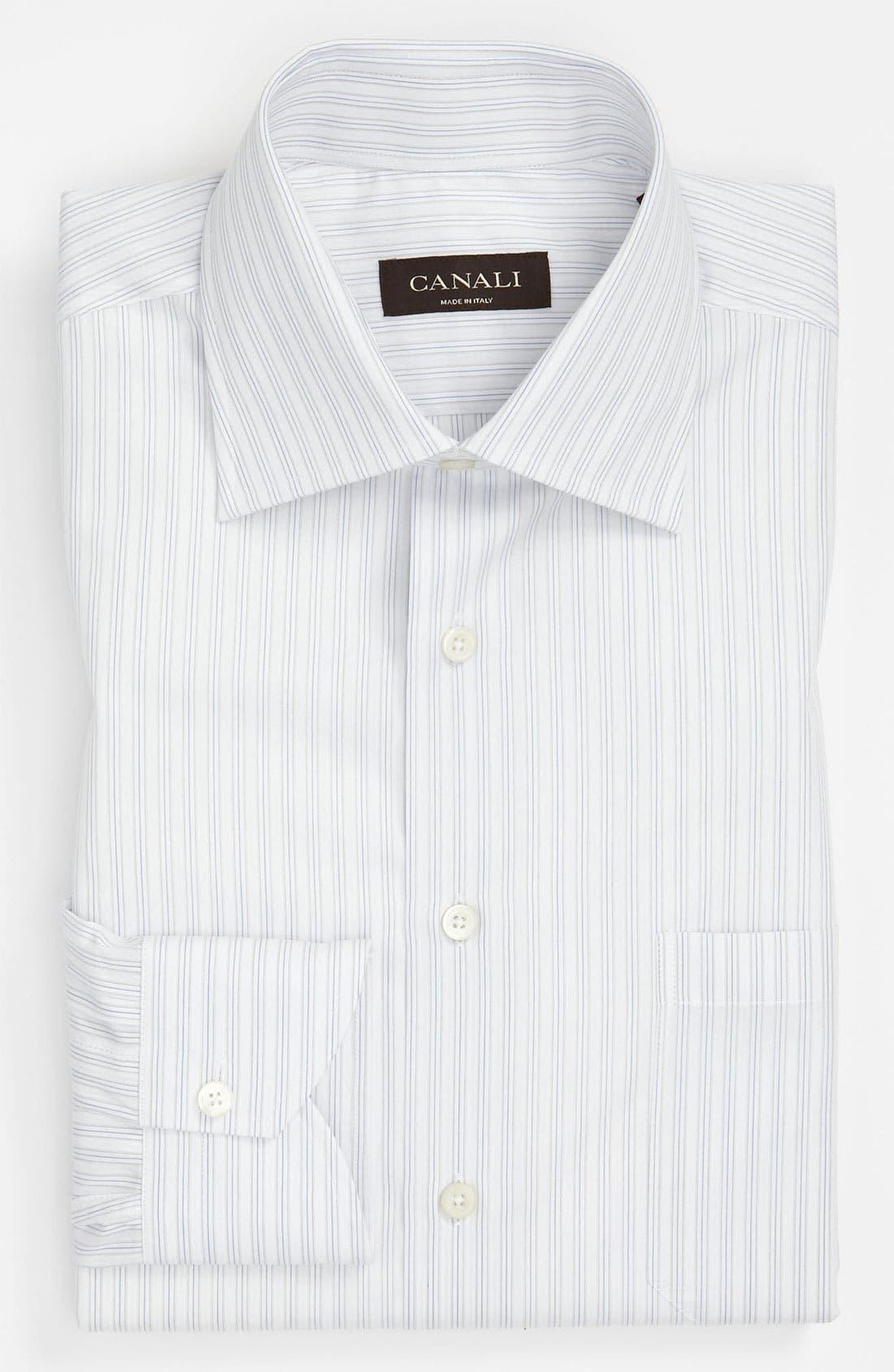 Main Image - Canali Modern Fit Dress Shirt