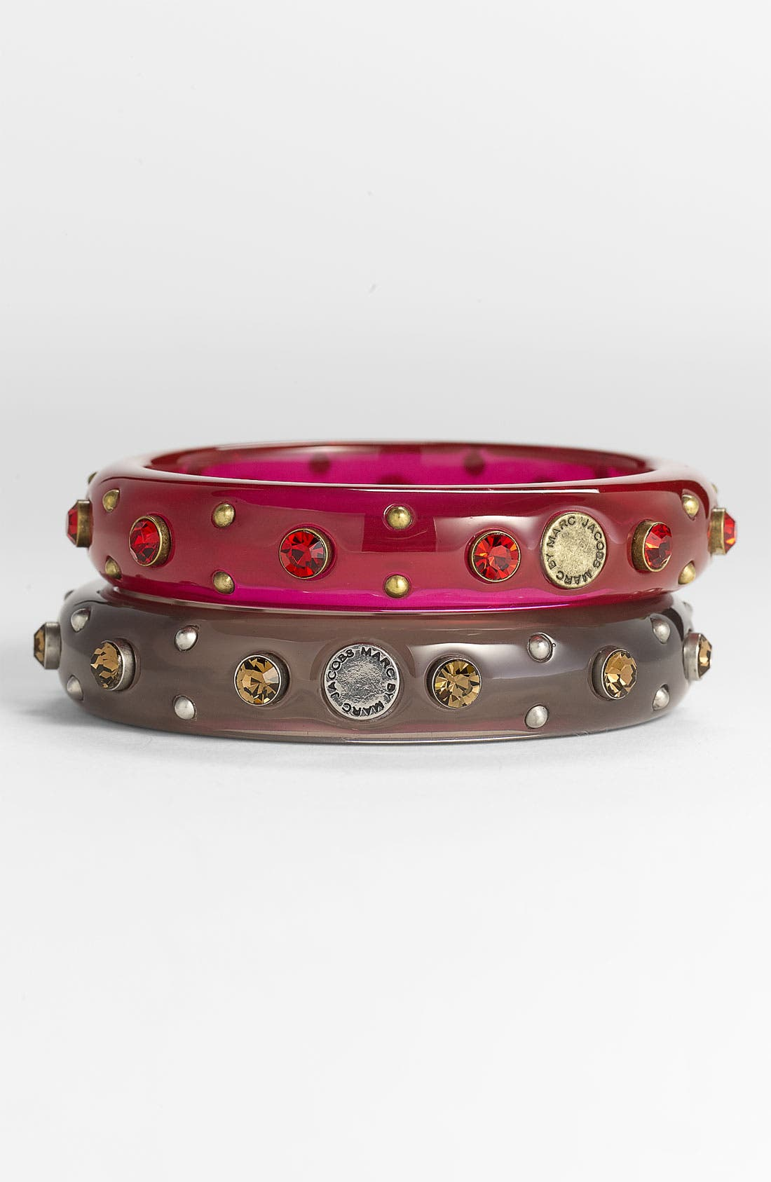 Alternate Image 1 Selected - MARC BY MARC JACOBS Studded Crystal Bangle