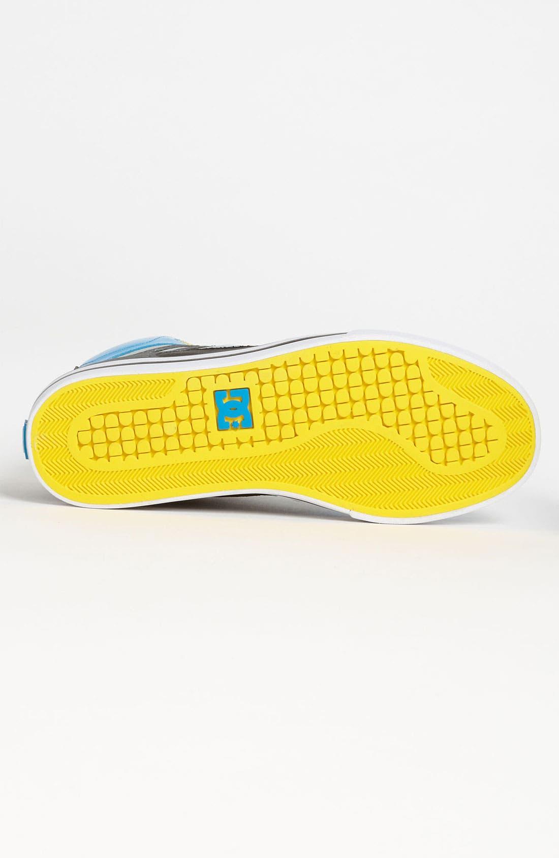 Alternate Image 4  - DC Shoes 'Spartan Hi' Sneaker (Online Only)