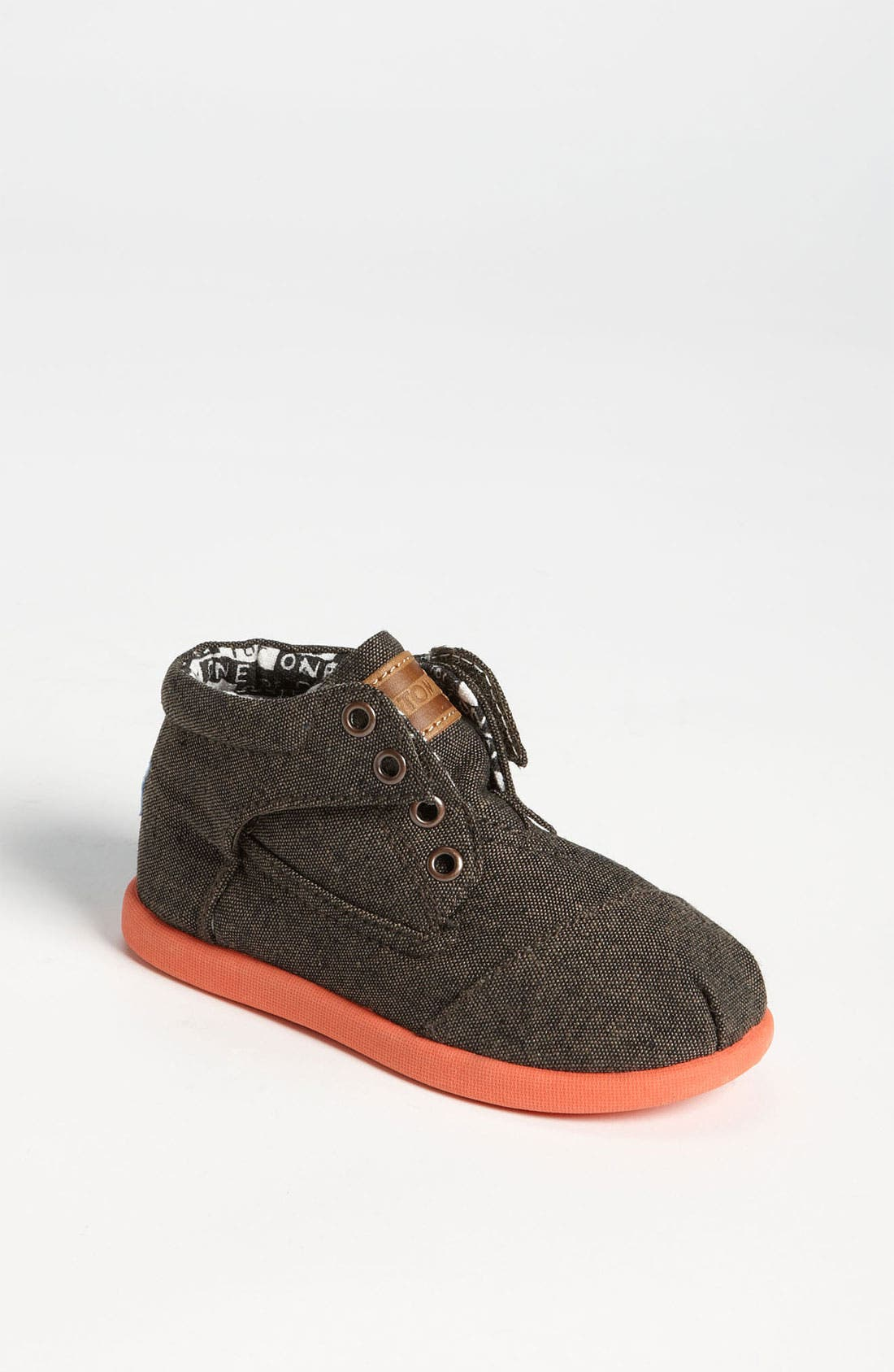 Main Image - TOMS 'Botas - Tiny' Chambray Boot (Baby, Walker & Toddler)