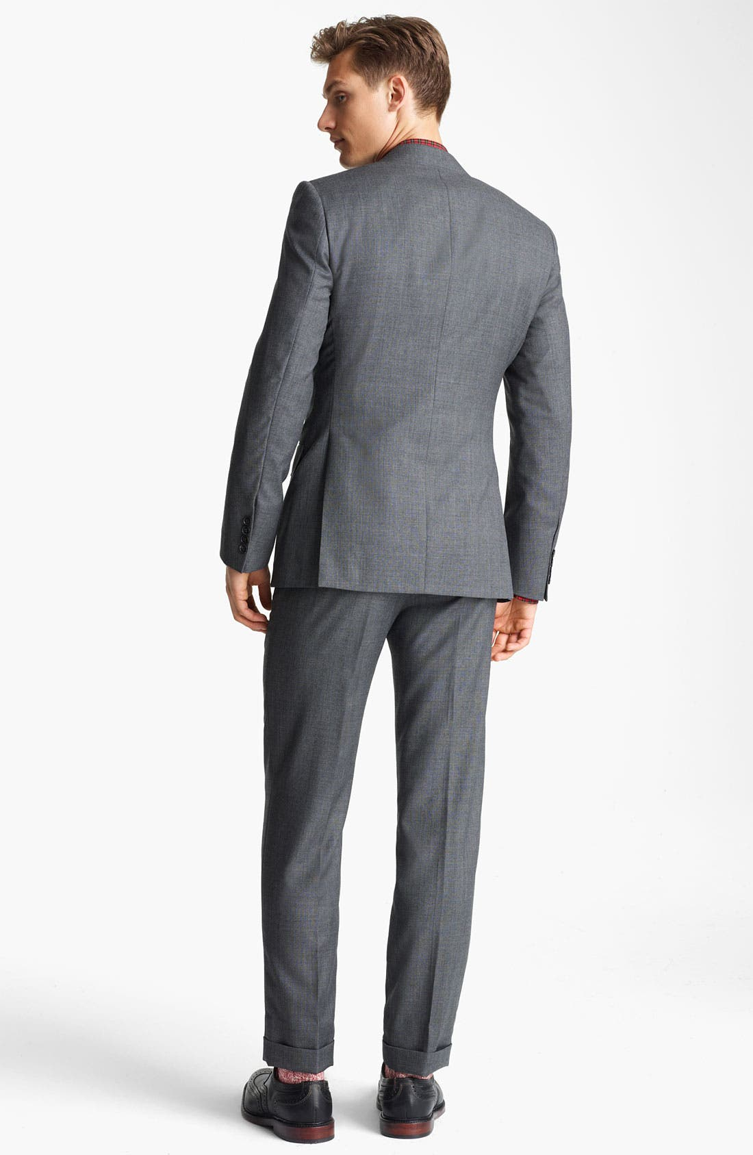 Alternate Image 3  - Billy Reid 'Campbell Nailhead - Heirloom Collection' Wool Suit