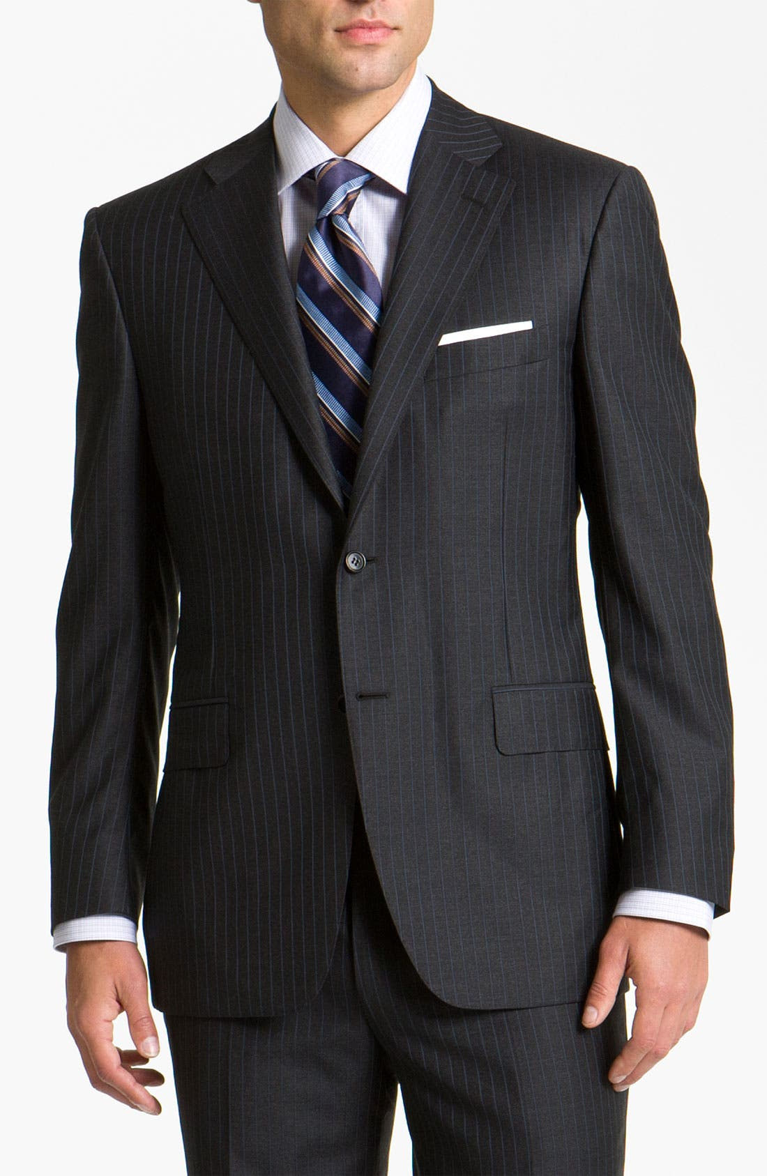 Alternate Image 1 Selected - Canali Stripe Suit