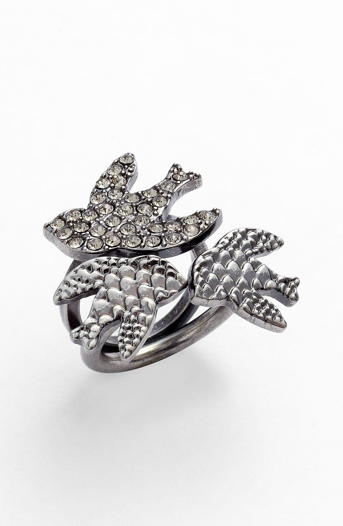 Main Image - MARC BY MARC JACOBS 'Petal to the Metal' Cluster Ring