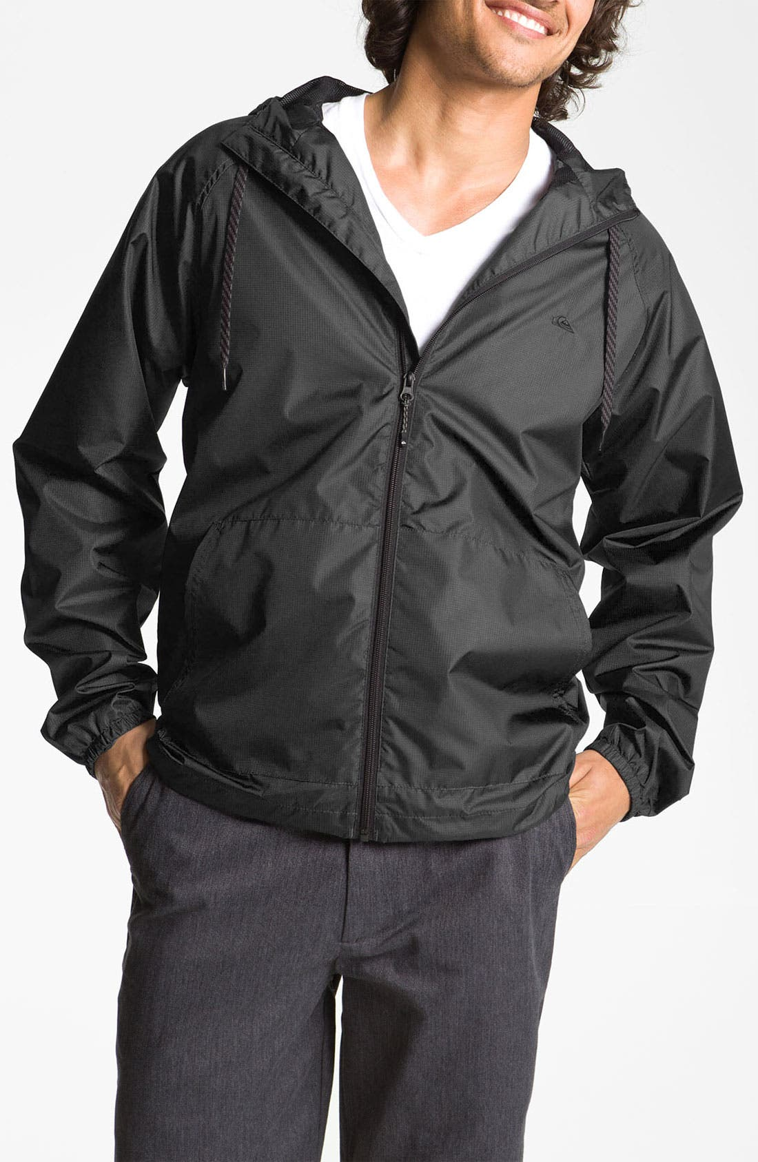 Main Image - Quiksilver 'Ward' Hooded Windbreaker