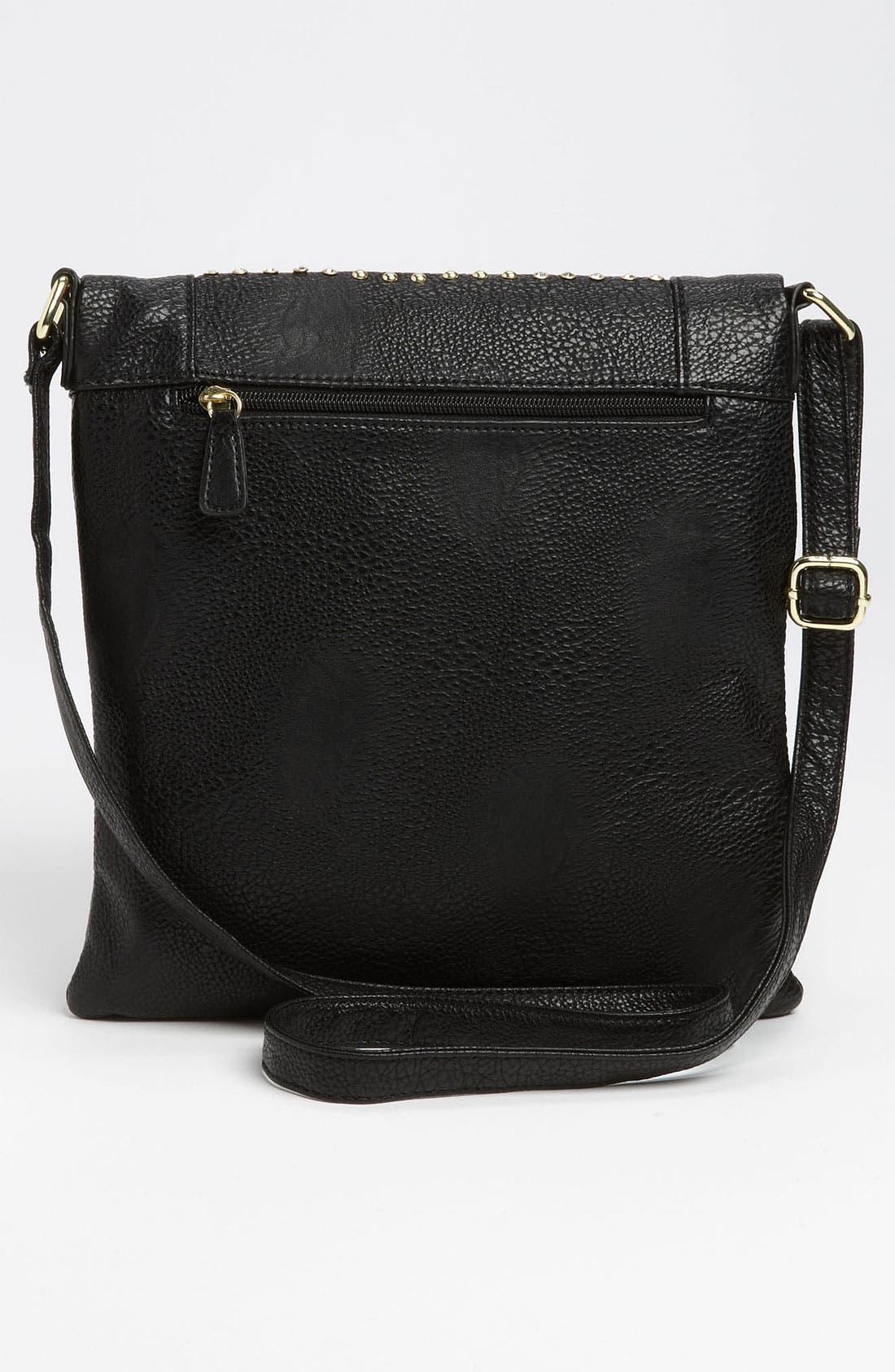 Alternate Image 4  - Steve Madden 'Stud Love' Foldover Crossbody Bag