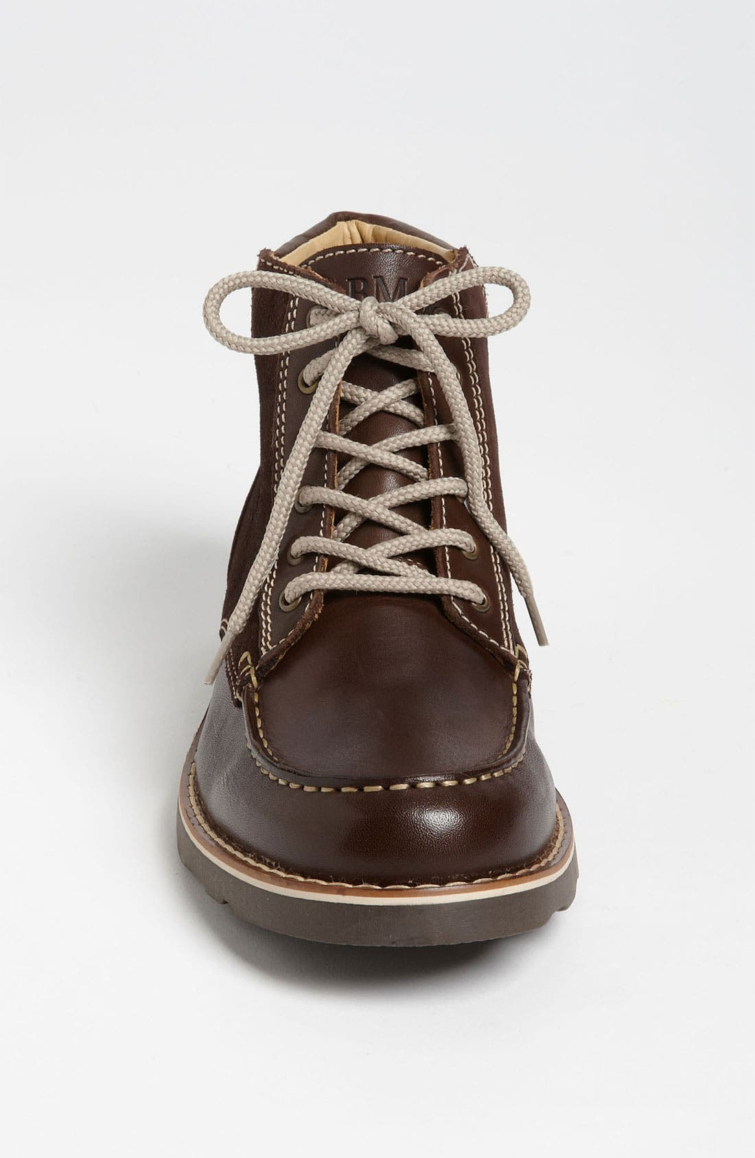 Alternate Image 3  - Armani Junior Leather Boot (Toddler, Little Kid & Big Kid)