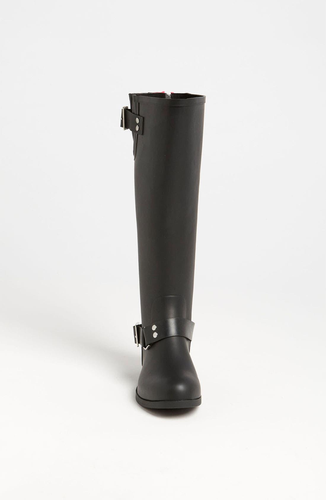 Alternate Image 3  - Steve Madden 'Tsunamii' Contrast Zip Rain Boot (Women)
