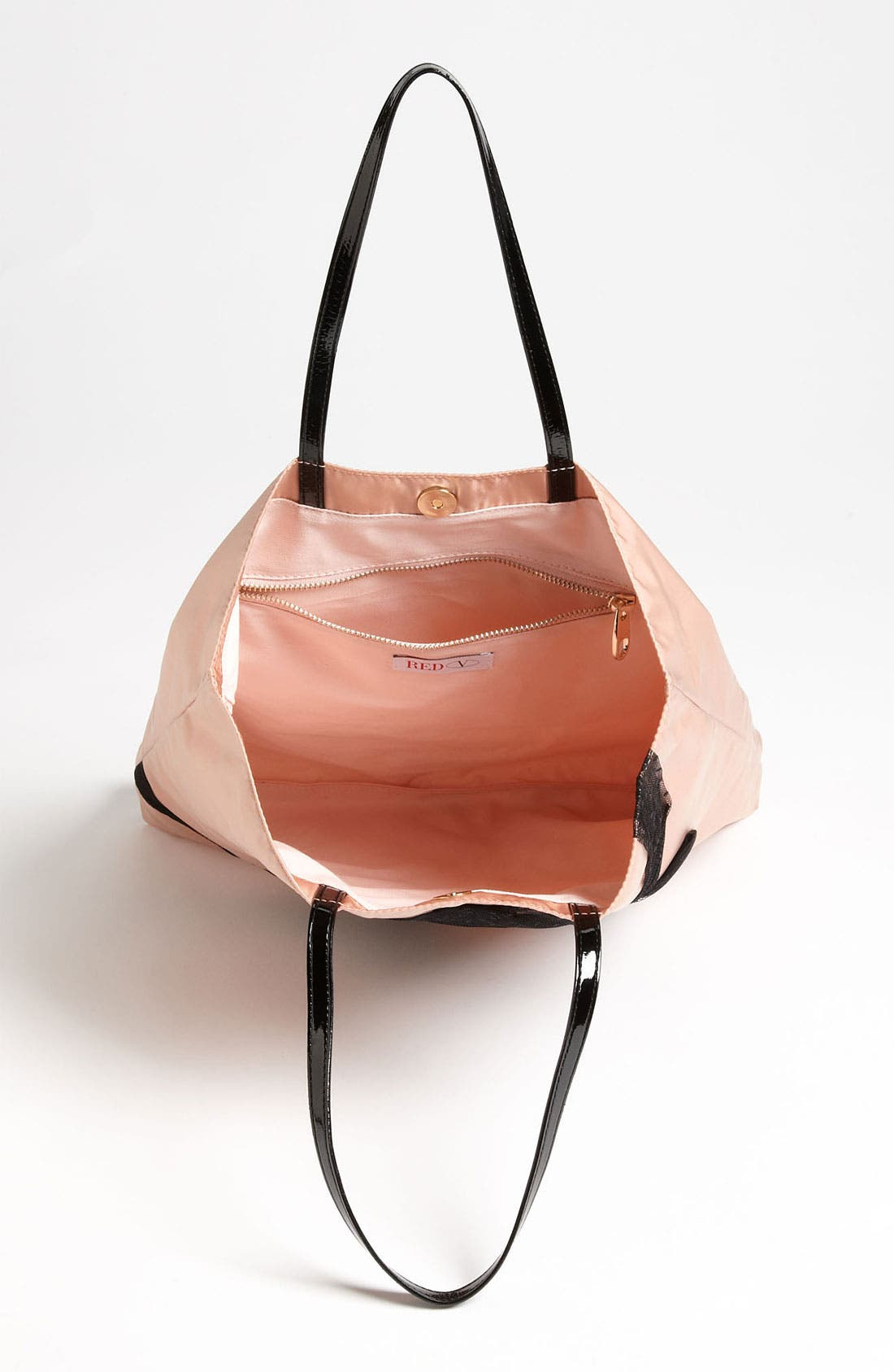 Alternate Image 3  - RED Valentino 'Point D'Esprit Bow' Tote