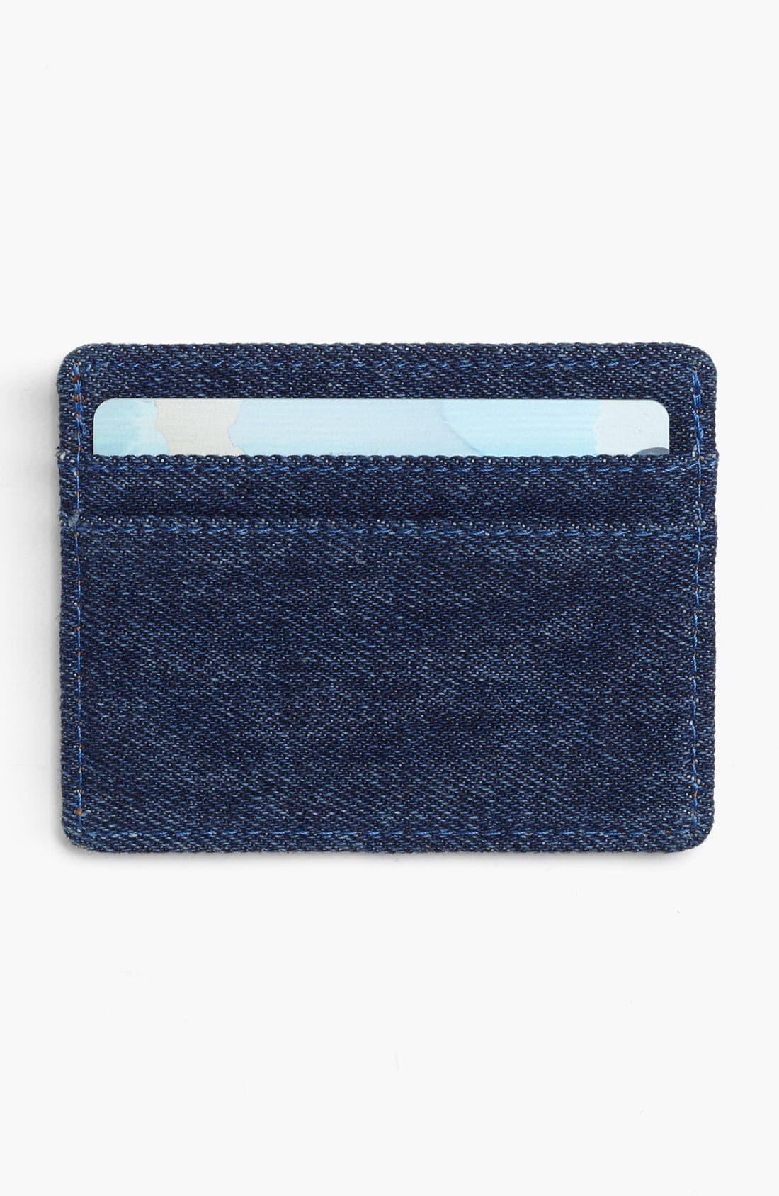 Alternate Image 2  - Herschel Supply Co. 'Charlie - Denim Collection' Card Case