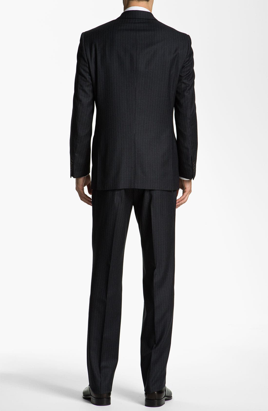 Alternate Image 3  - John Varvatos Star USA 'Bedford' Trim Fit Stripe Suit