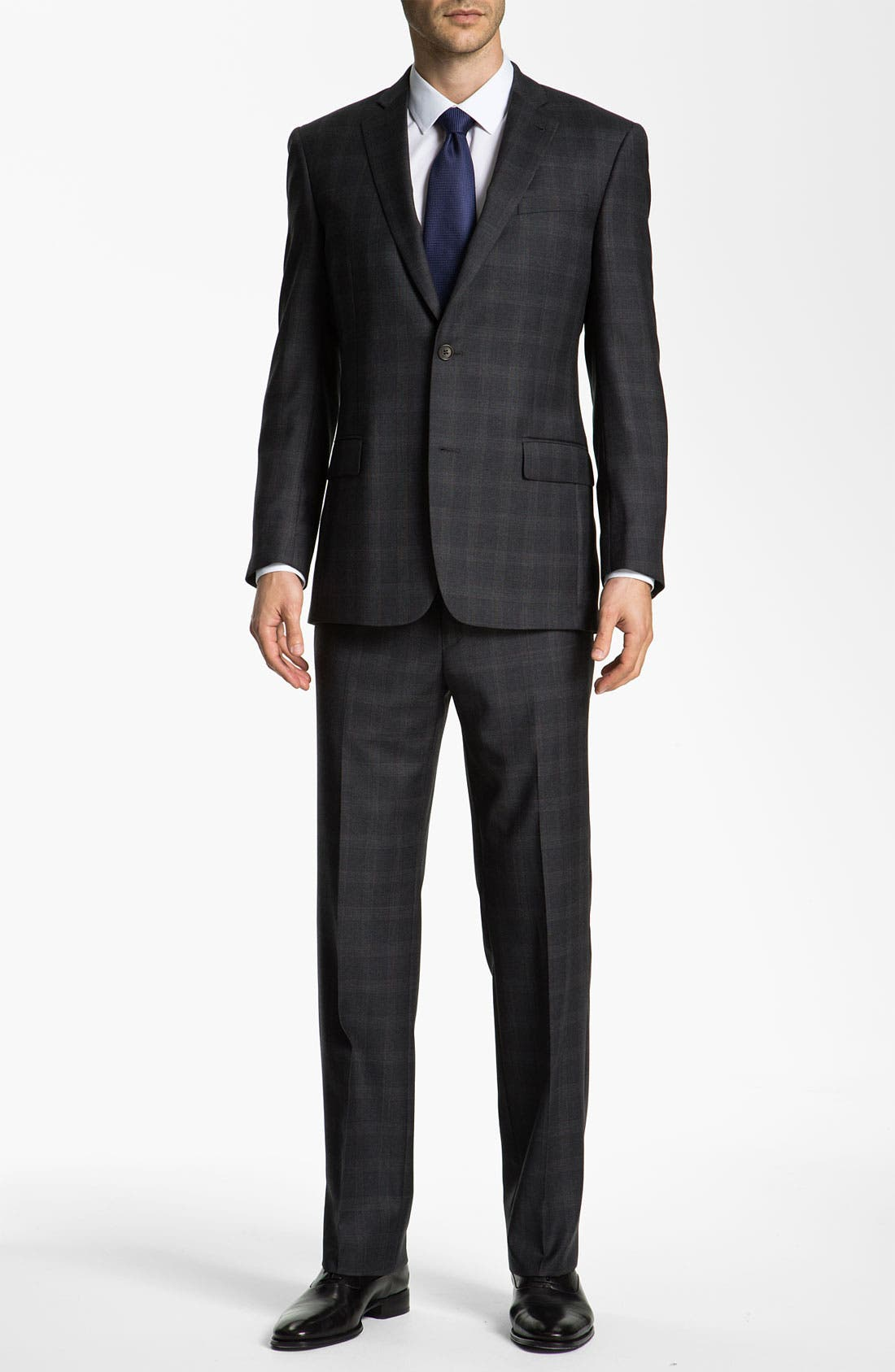 Alternate Image 2  - John Varvatos Star USA 'Bedford' Trim Fit Plaid Suit