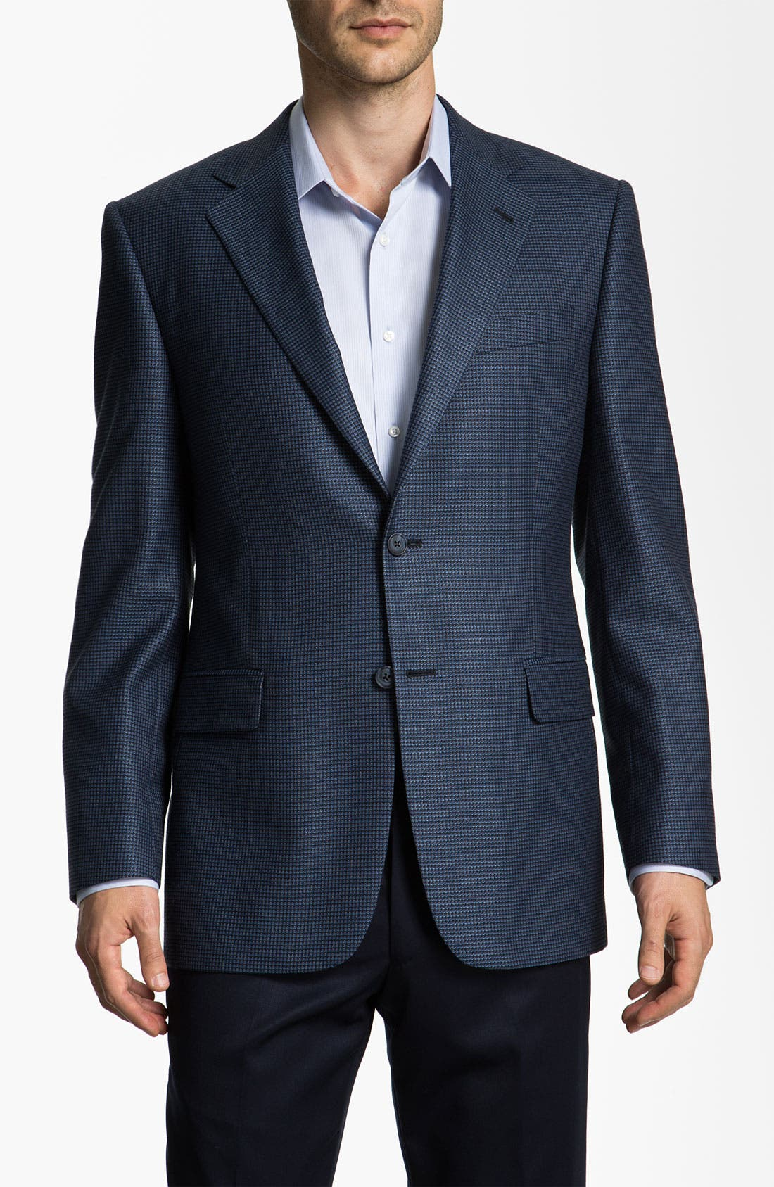 Alternate Image 1 Selected - Joseph Abboud 'Signature Silver' Sportcoat