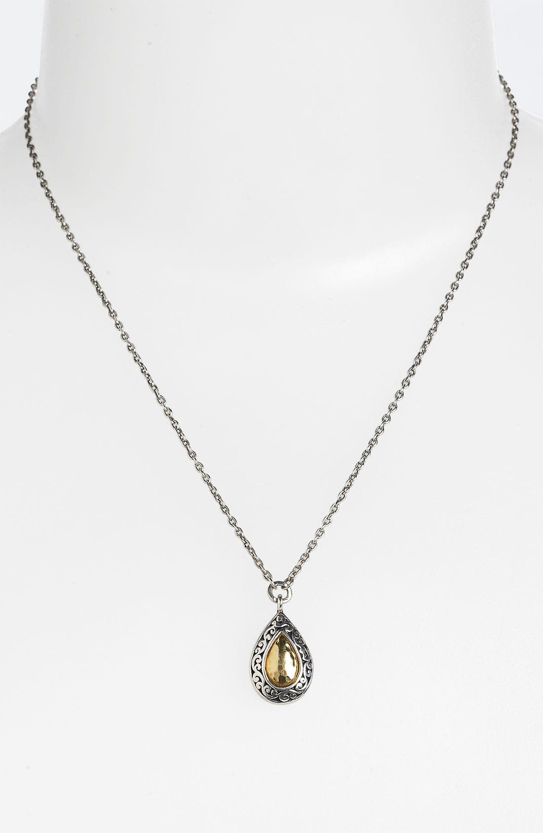 Alternate Image 1 Selected - Lois Hill 'Marquise' Small Teardrop Pendant Necklace
