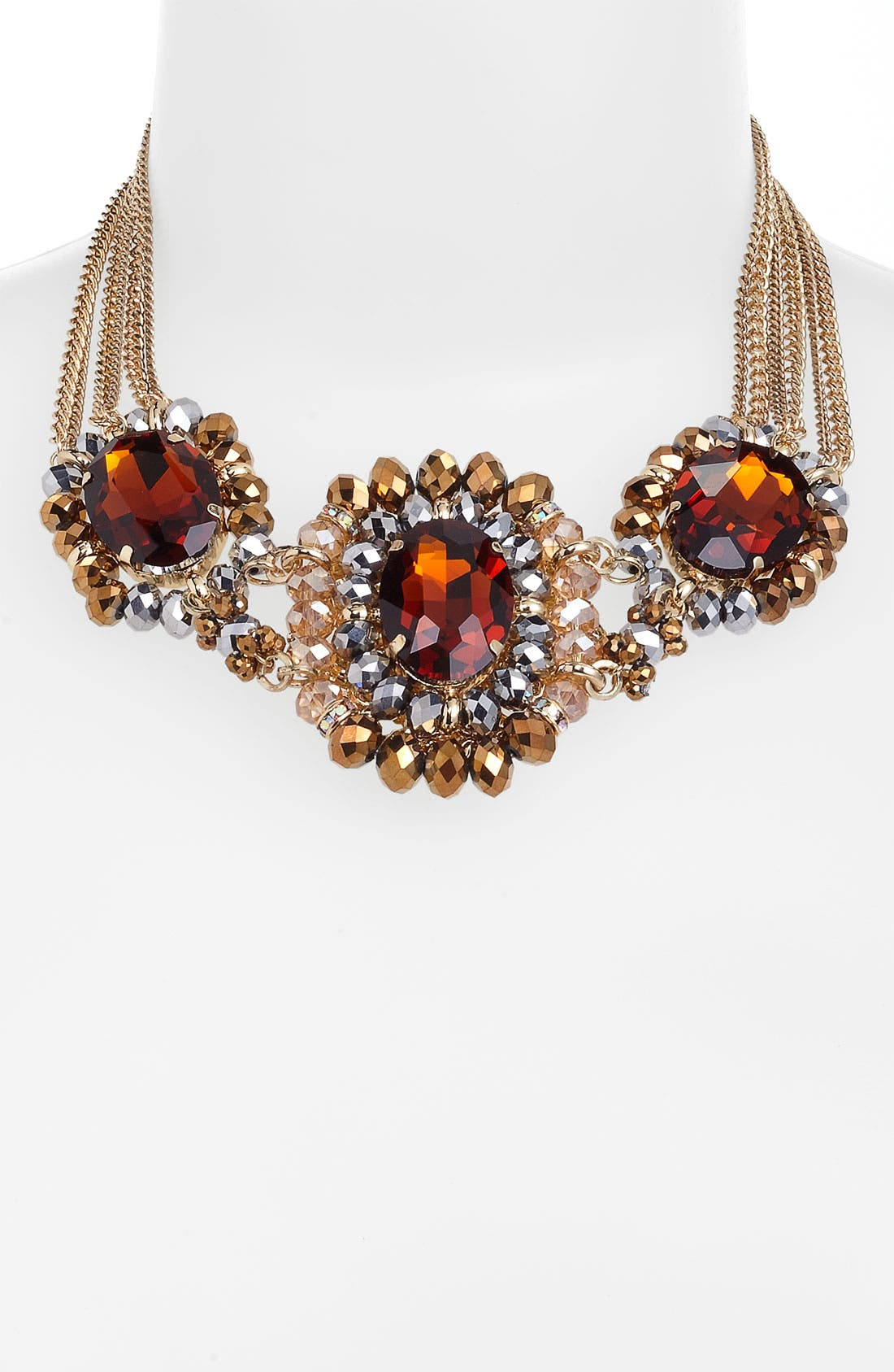 Alternate Image 1 Selected - Cara Multi Stone Statement Necklace