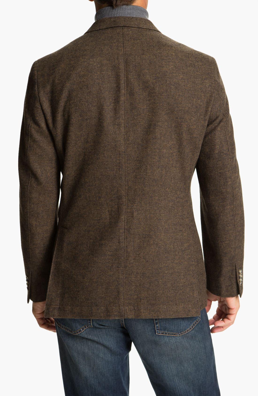 Alternate Image 2  - Kroon 'Harrison' Wool & Cotton Blend  Sportcoat