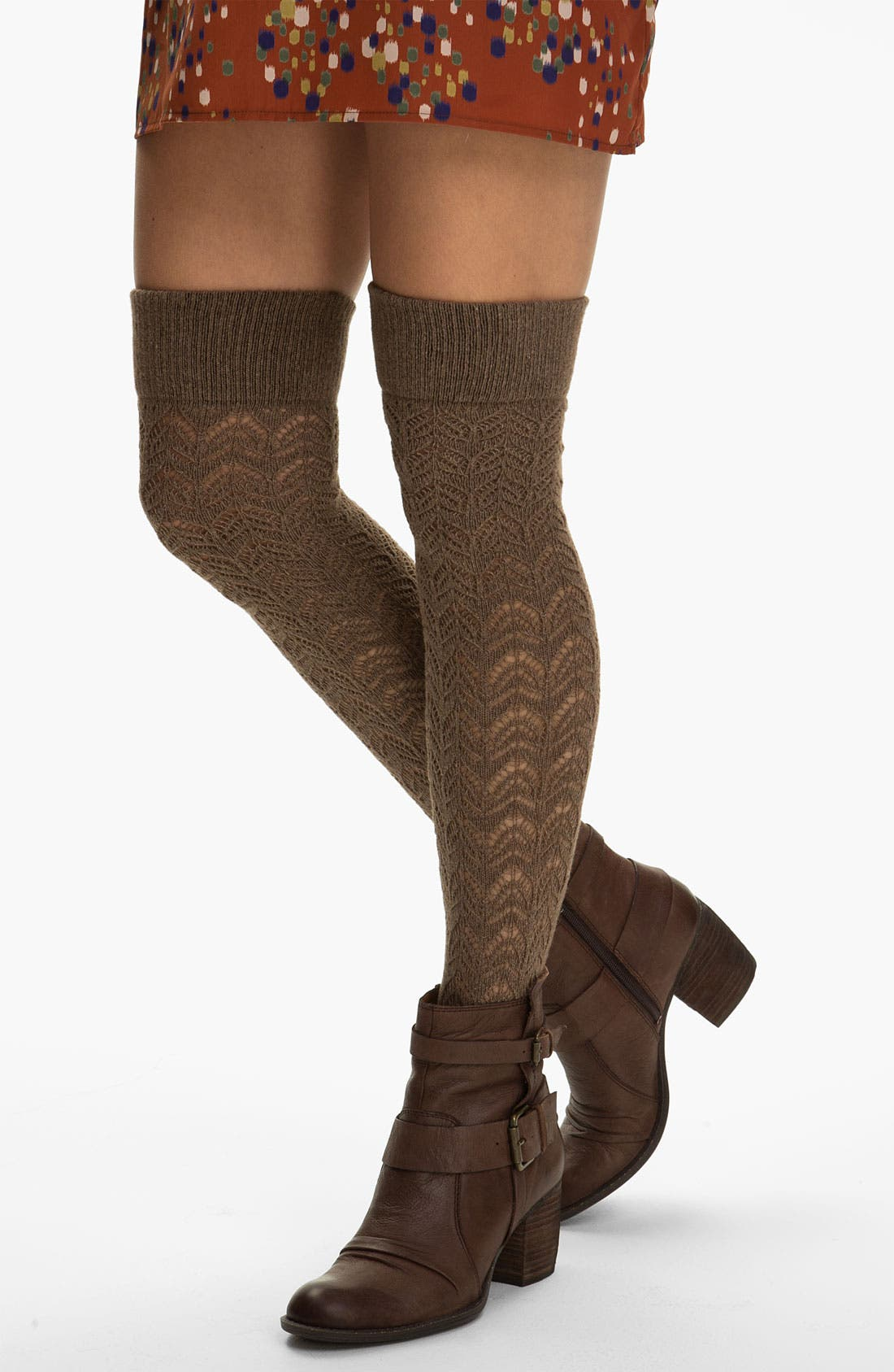 Alternate Image 1 Selected - Oroblu 'Calzerotto Fanette' Over the Knee Socks