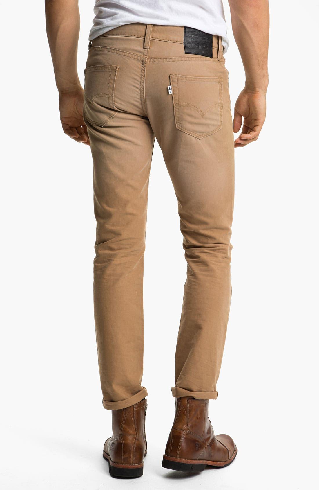 Alternate Image 1 Selected - Levi's® '511™' Skinny Leg Jeans (Heavy Dobby Caraway)