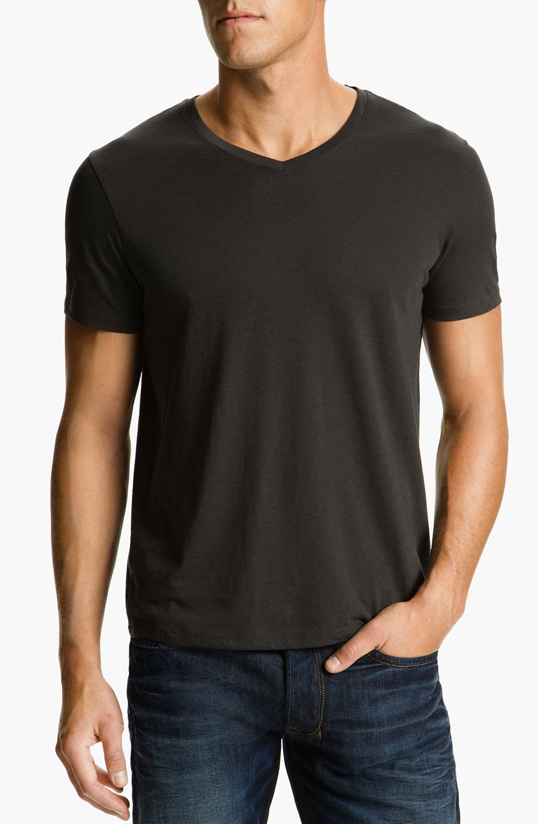Alternate Image 1 Selected - Vince V-Neck T-Shirt