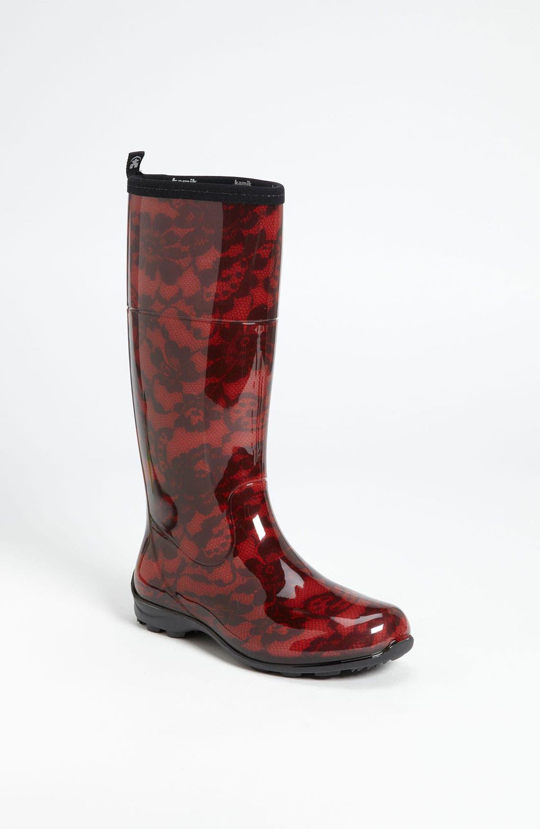 Alternate Image 1 Selected - Kamik 'Gwenyth' Rain Boot (Women)