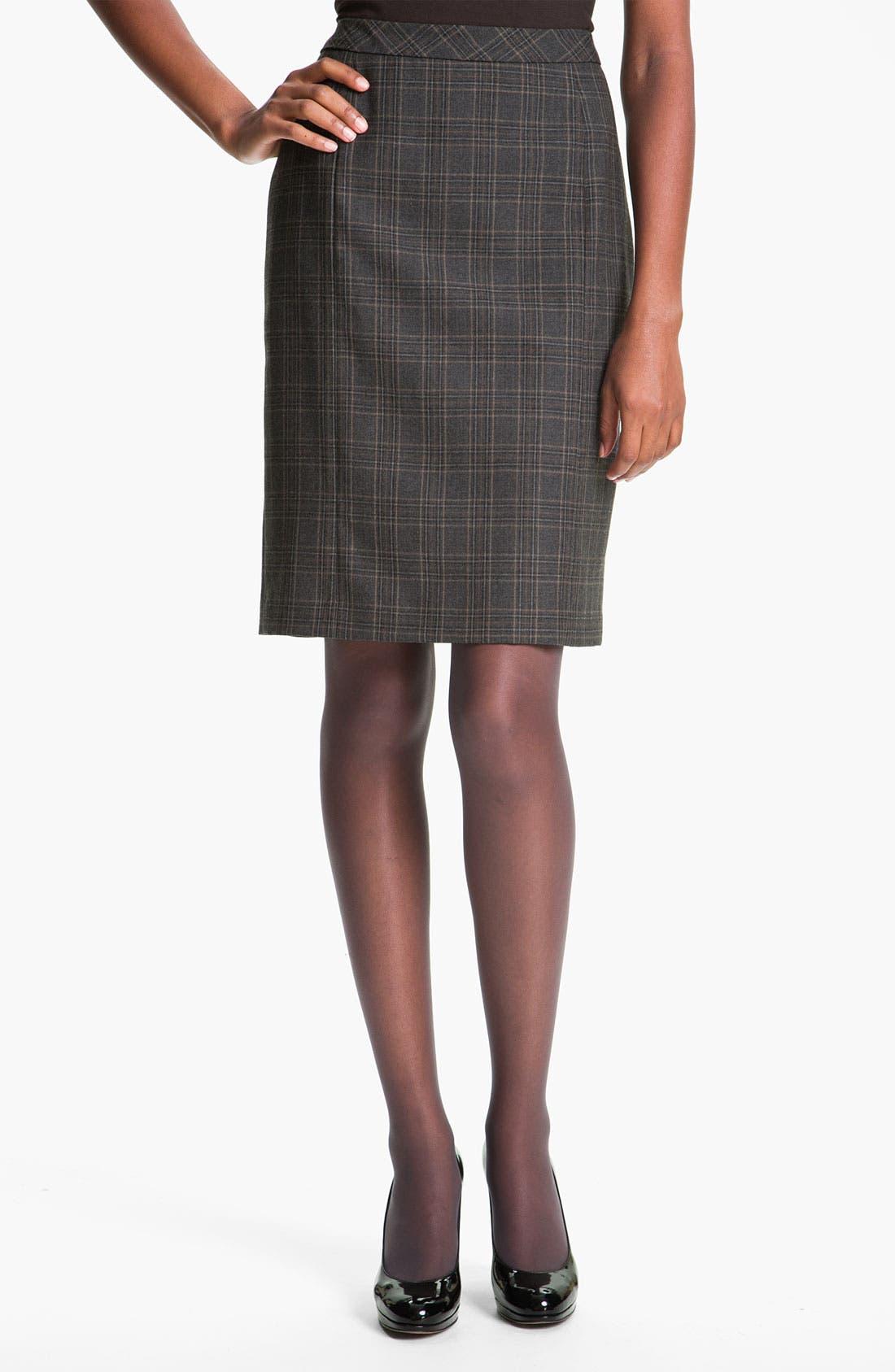 Alternate Image 1 Selected - Santorelli 'Regina' Skirt