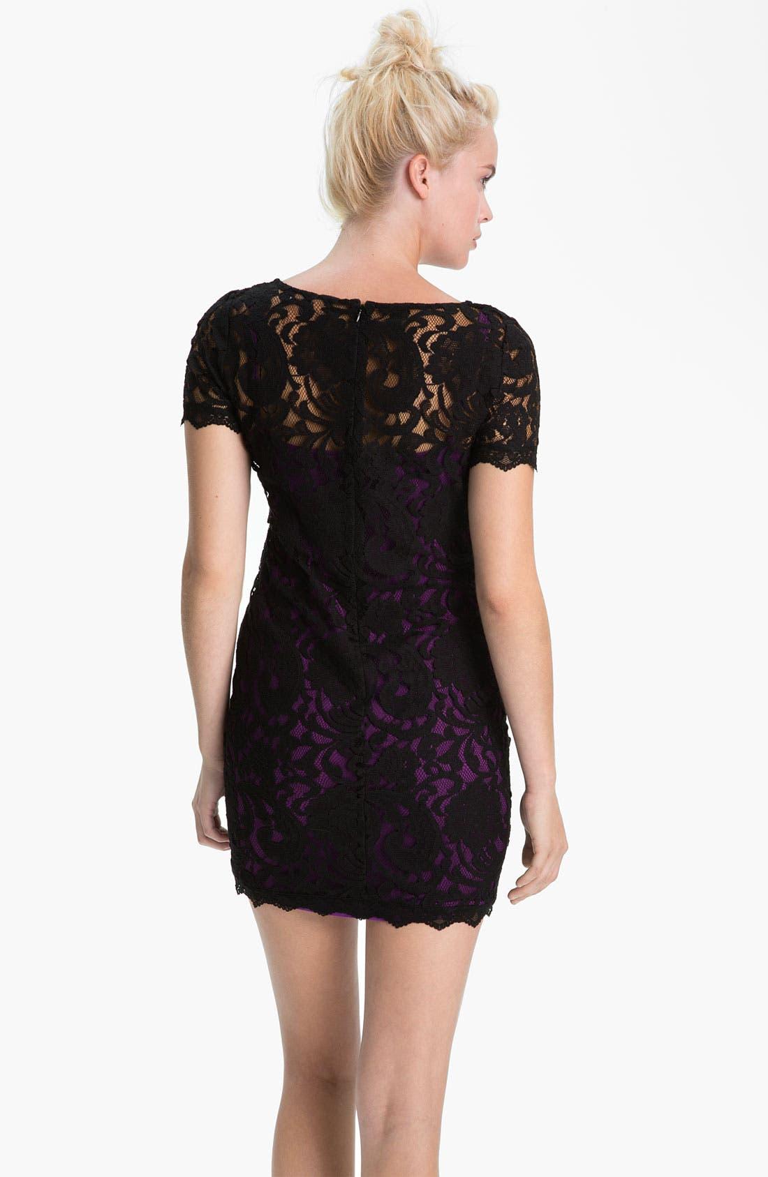 Alternate Image 2  - Sanctuary 'Good Fortune' Lace Dress